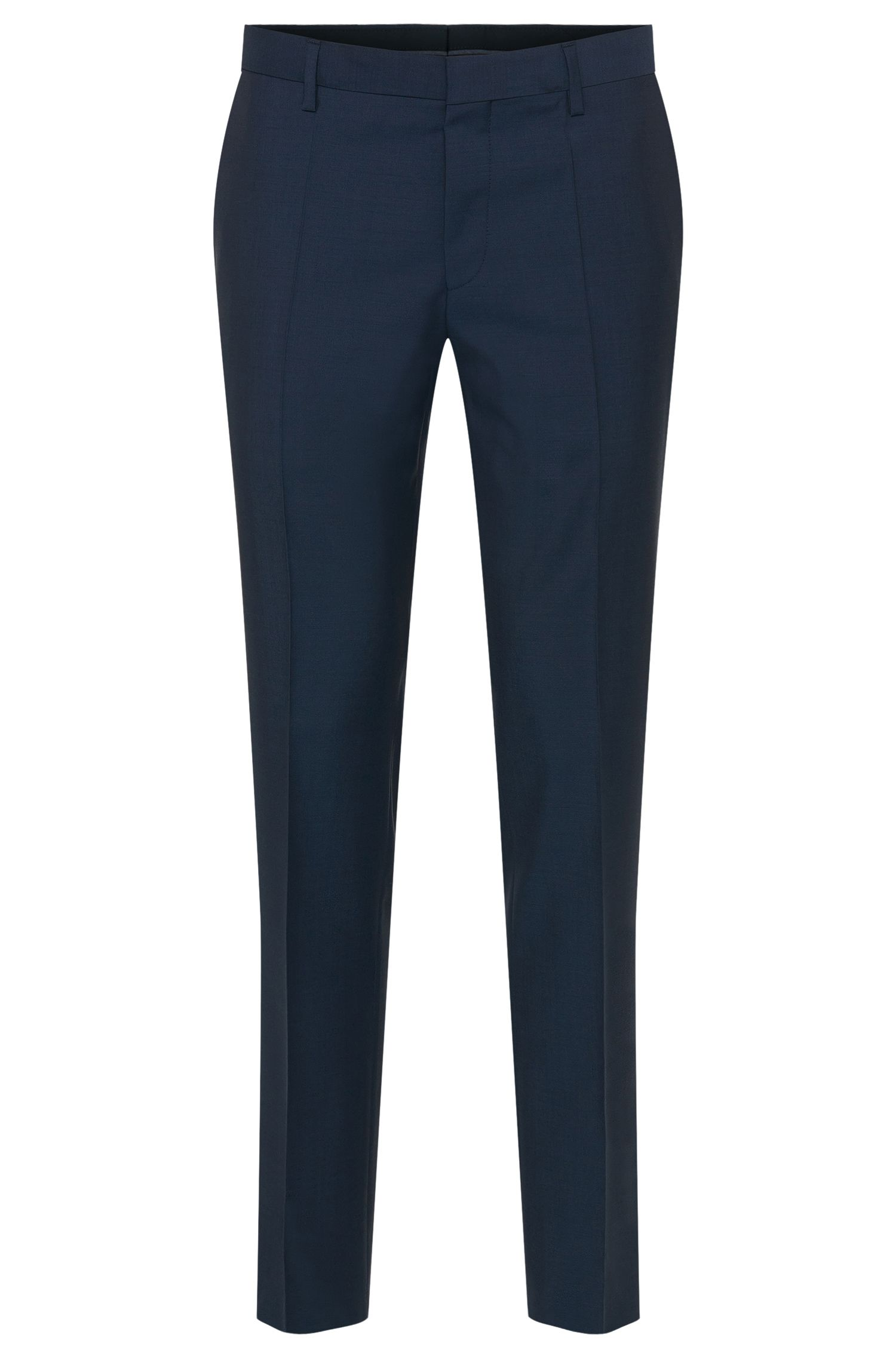 'Genesis' | Slim Fit, Virgin Wool Dress Pants