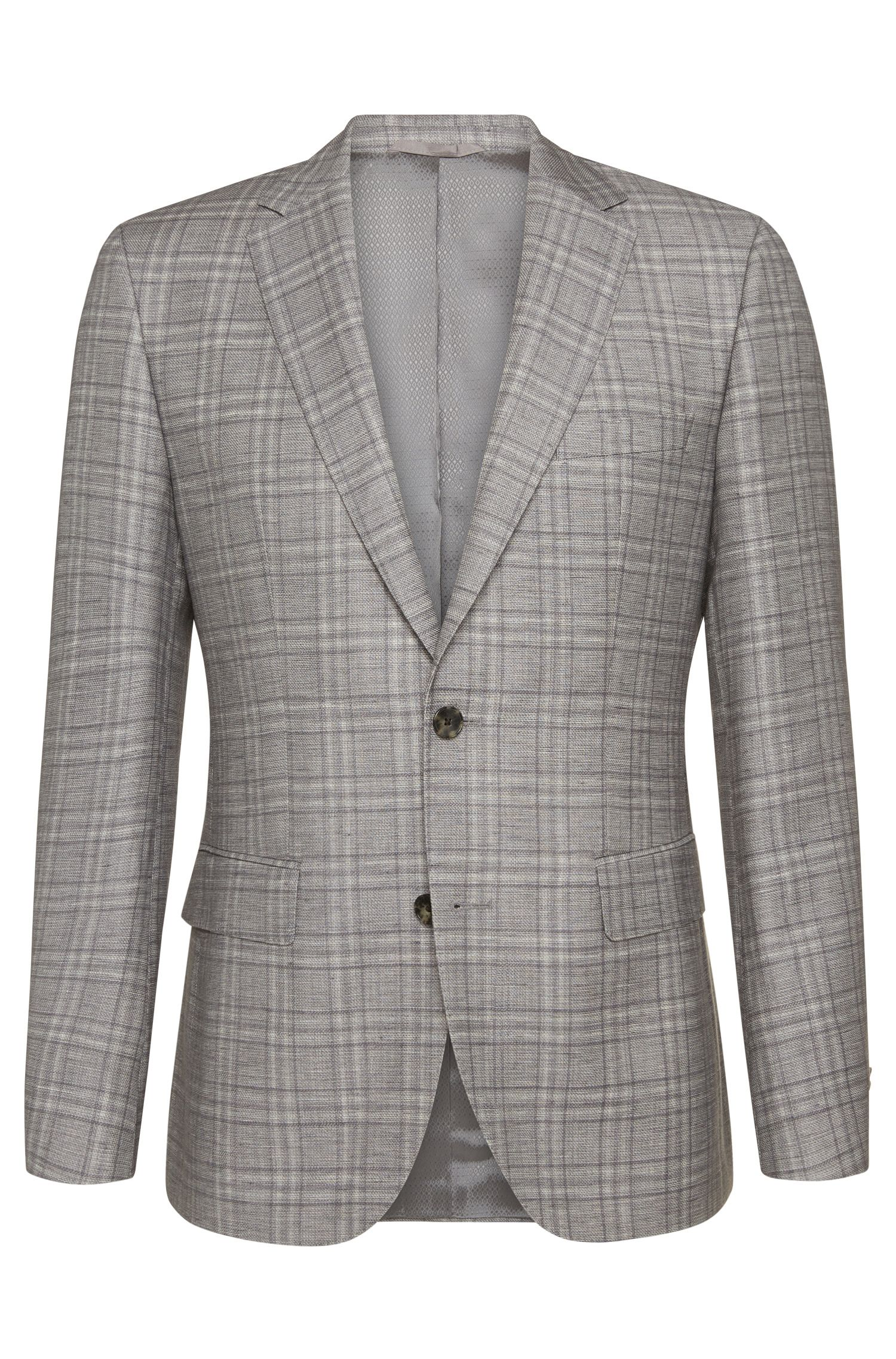 'Jeen'   Regular Fit, Italian Wool, Linen Sport Coat