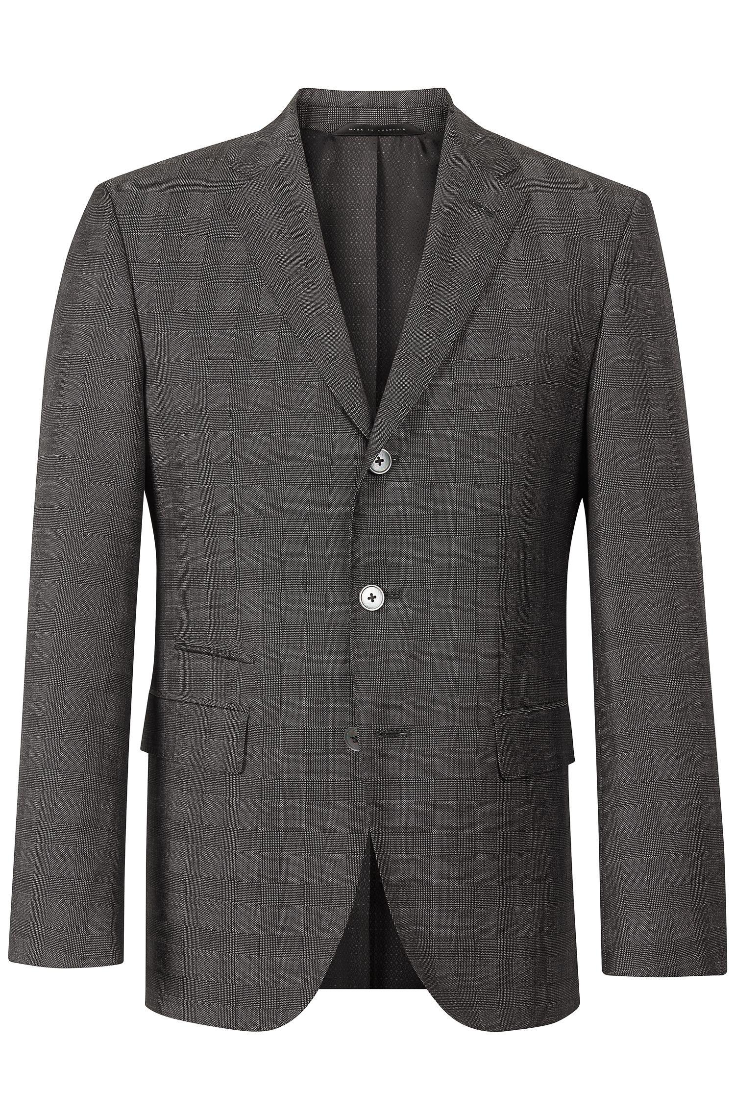 'Johnston' | Regular Fit, Virgin Wool Sport Coat