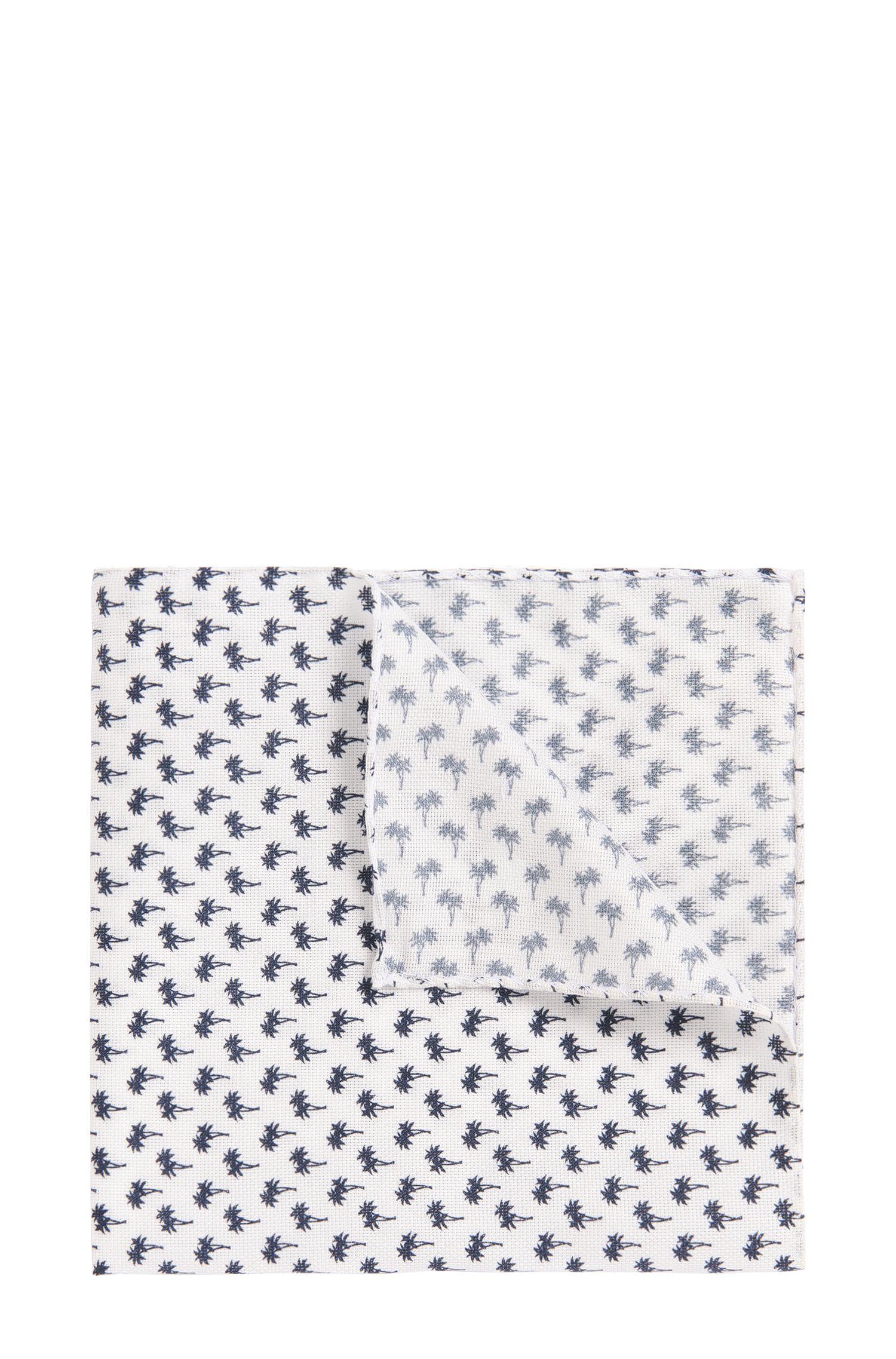 'Pocket Square 33 x 33'   Cotton Patterned Pocket Square