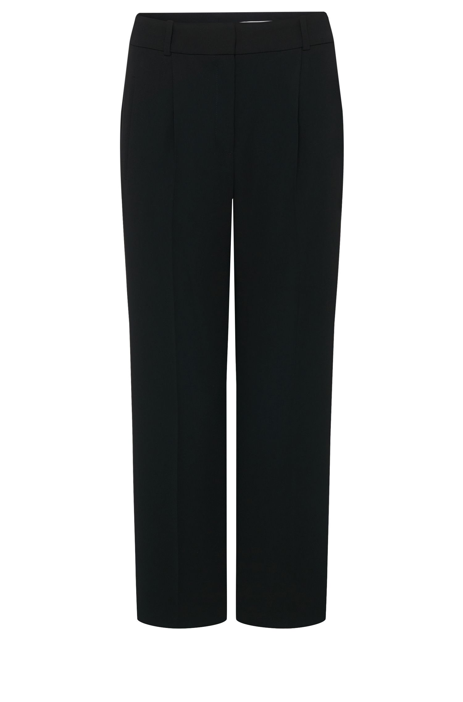 'Alami' | Crepe Wide Leg Pants