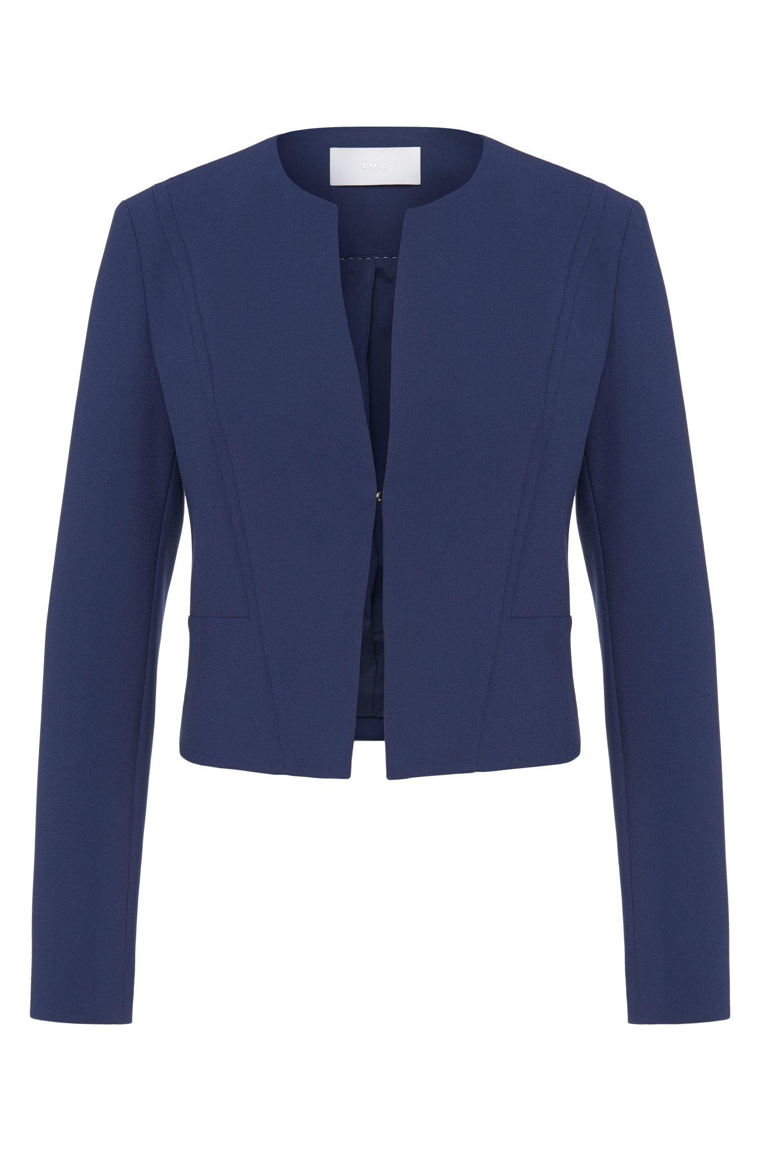 'Jasala' | Stretch Cotton Blend Jacket