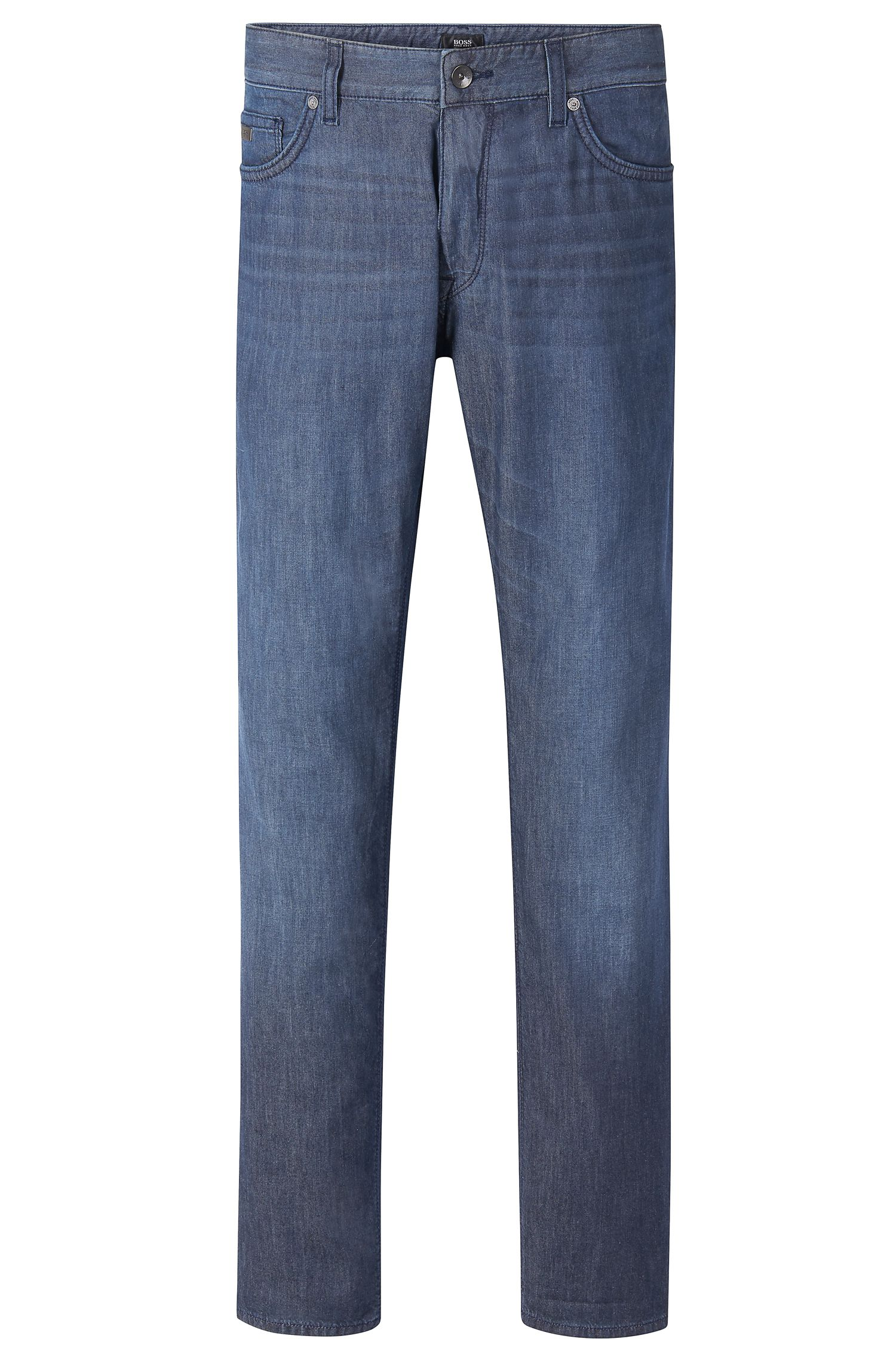 'Maine'   Regular Fit, 6 oz Stretch Cotton Jeans