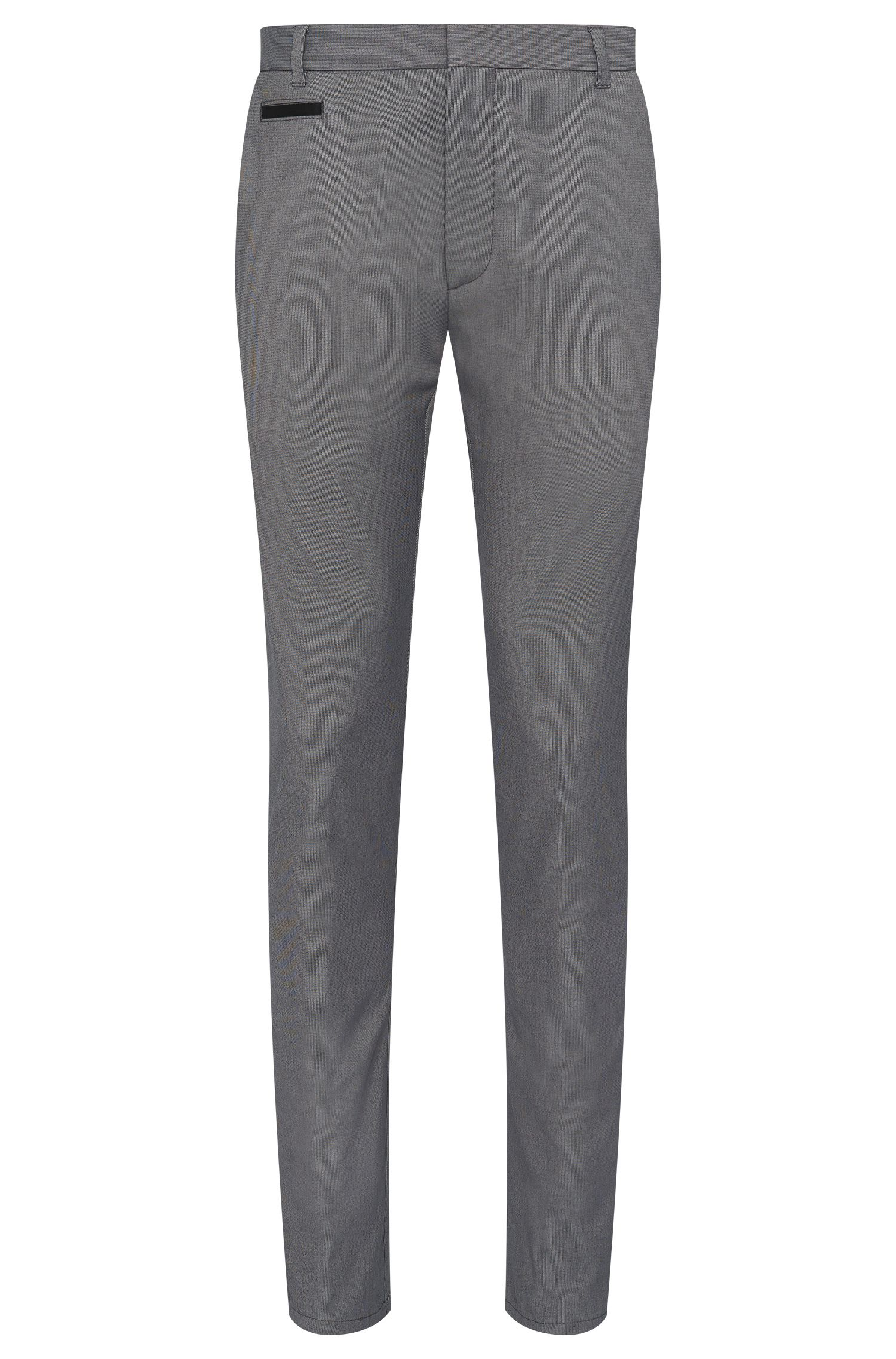 'Heralt' | Slim Fit, Stretch Cotton Blend Trousers