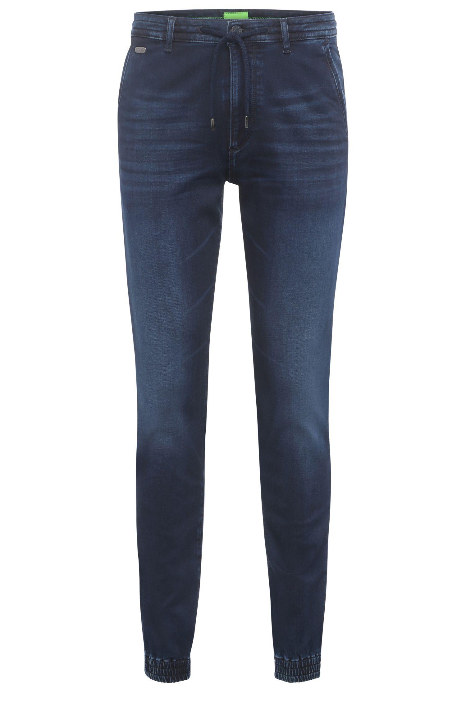 'Darrel'   Slim Fit, 9.75 oz Stretch Cotton Denim Jogging Pants