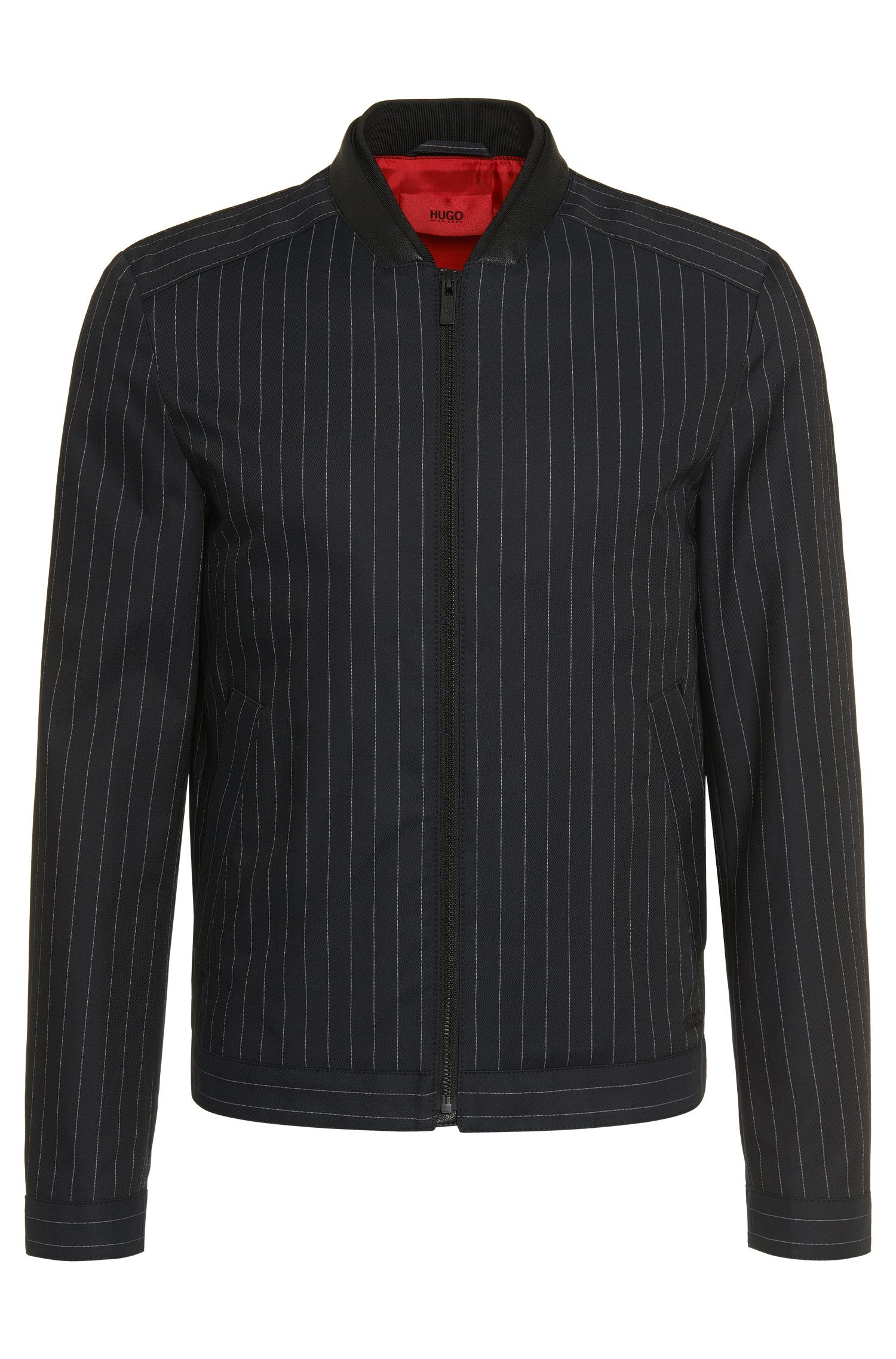 'Balkin' | Banker Stripe Short Jacket