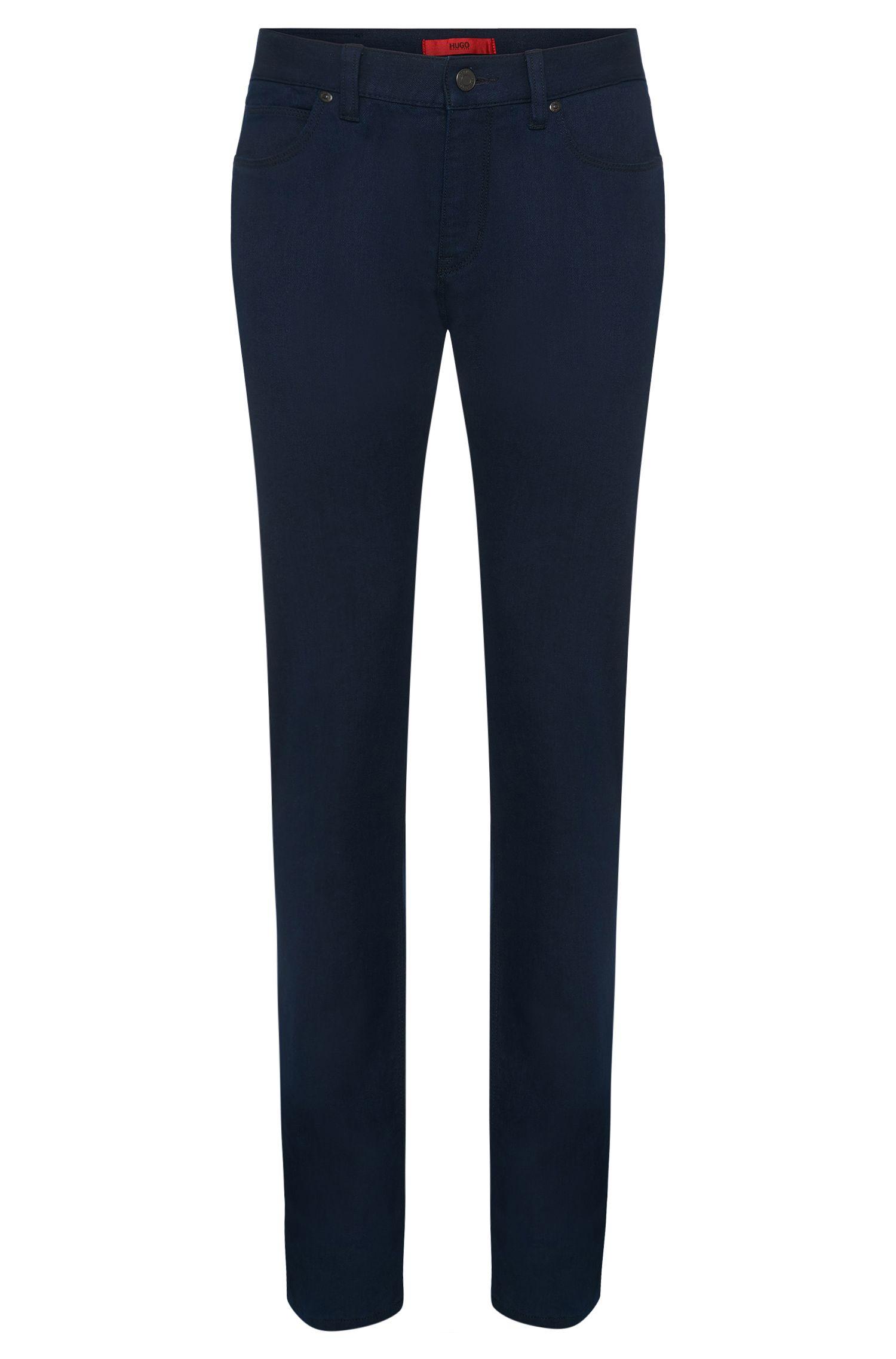 'HUGO 708' | Slim Fit, 11 oz Stretch Cotton Blend Jeans