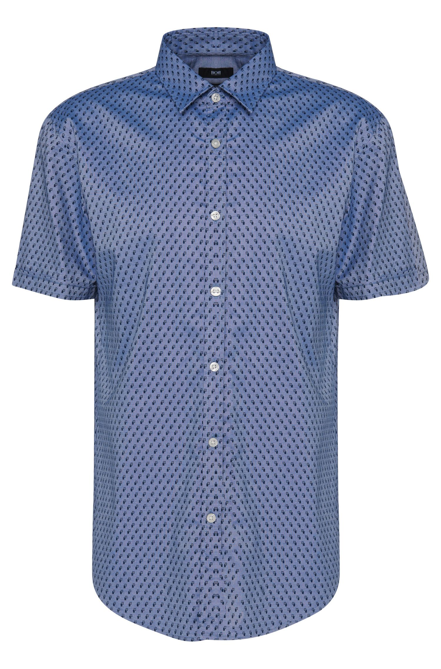 'Ronn' | Slim Fit, Cotton Button Down Shirt