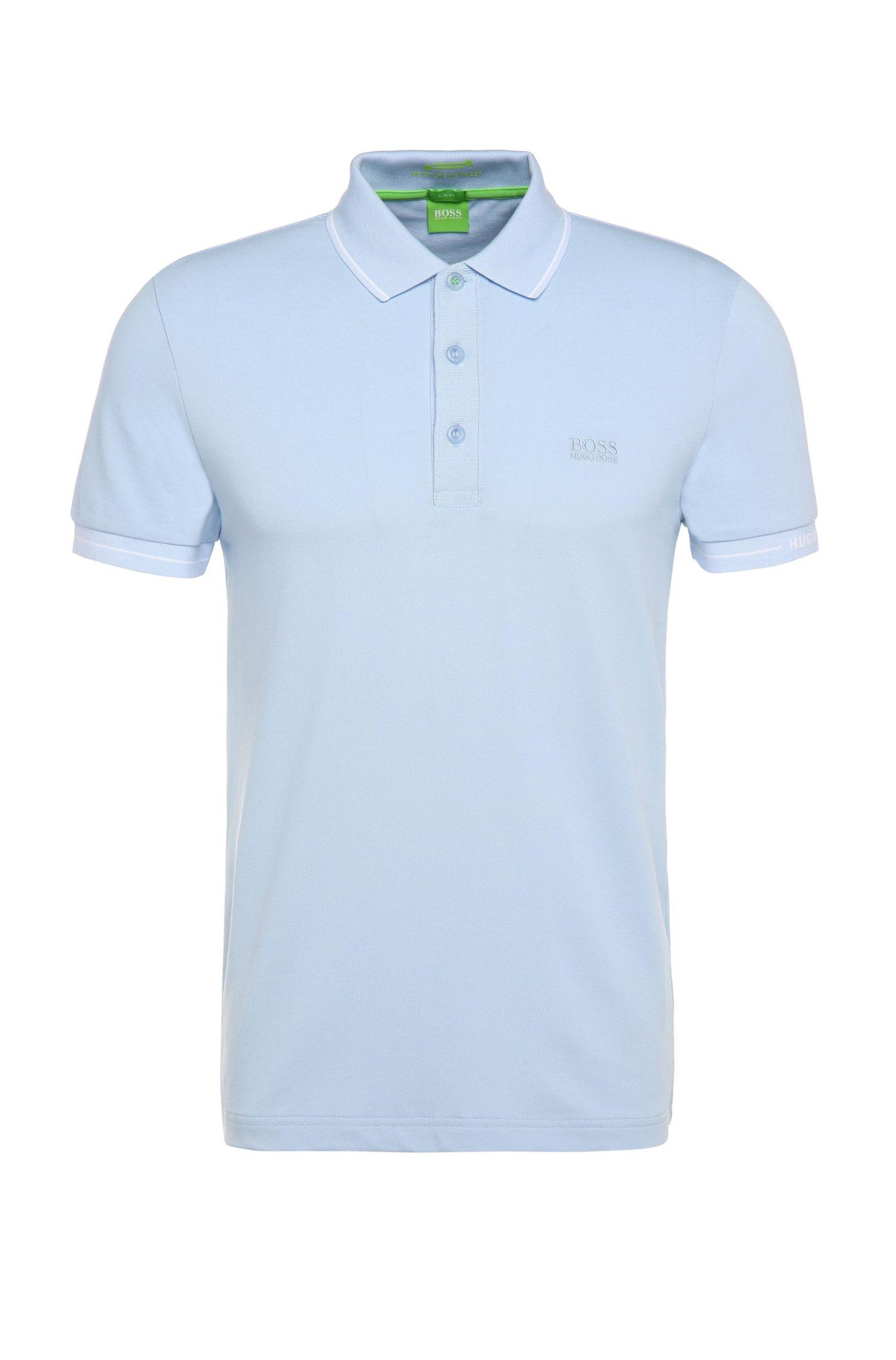 'Paule' | Slim Fit, Moisture Manager Cotton Polo Shirt