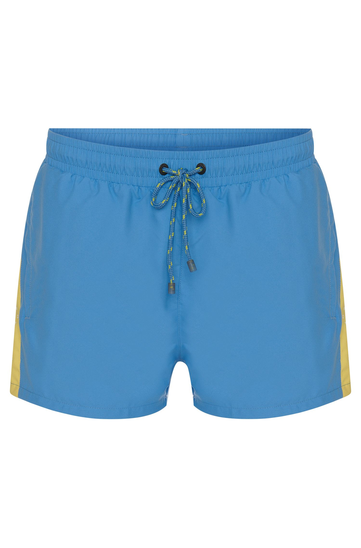 'Piabuco' | Quick Dry Colorblock Swim Trunks