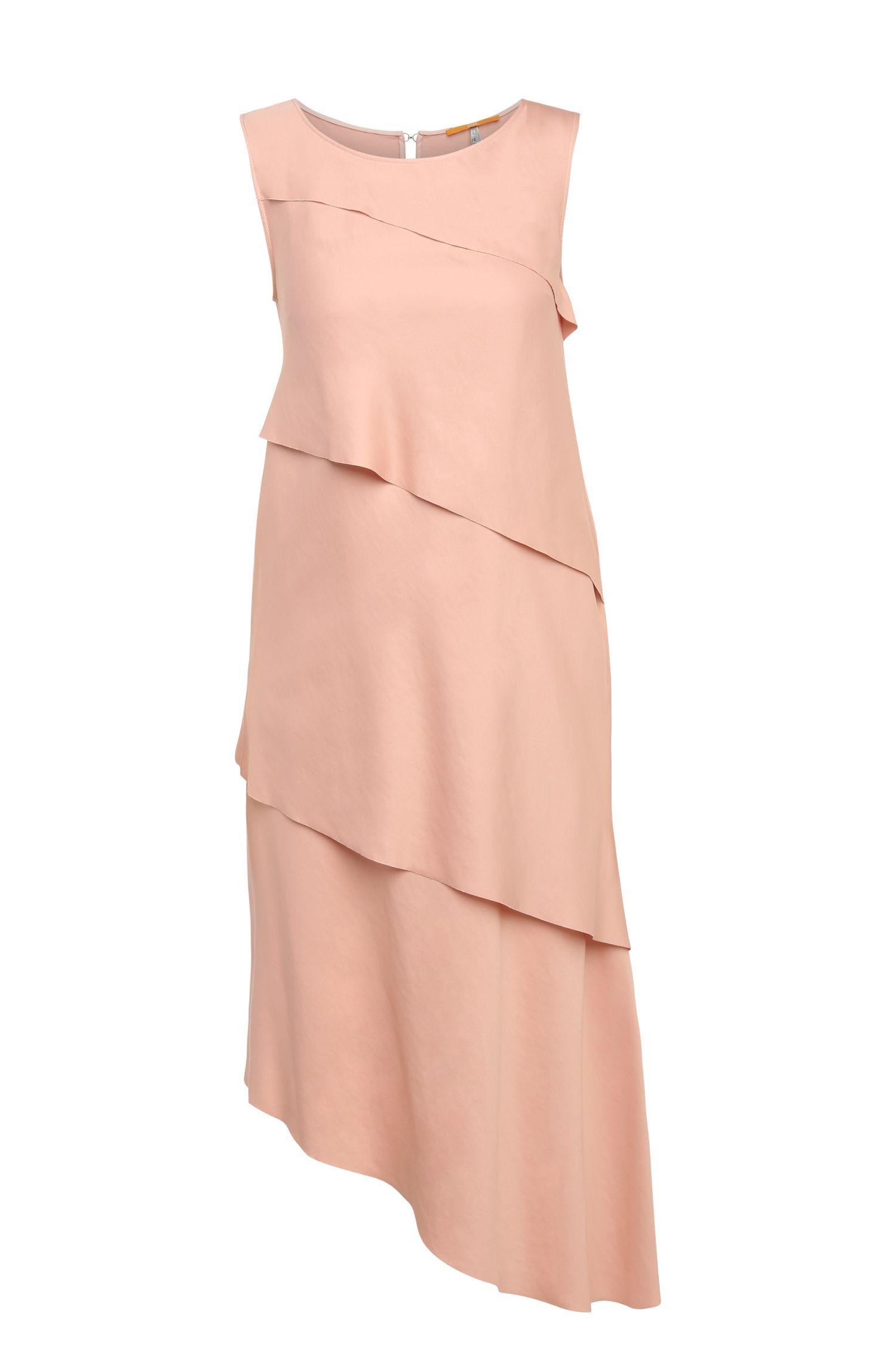 'Asimmy'   Modal Blend Tiered Shift Dress