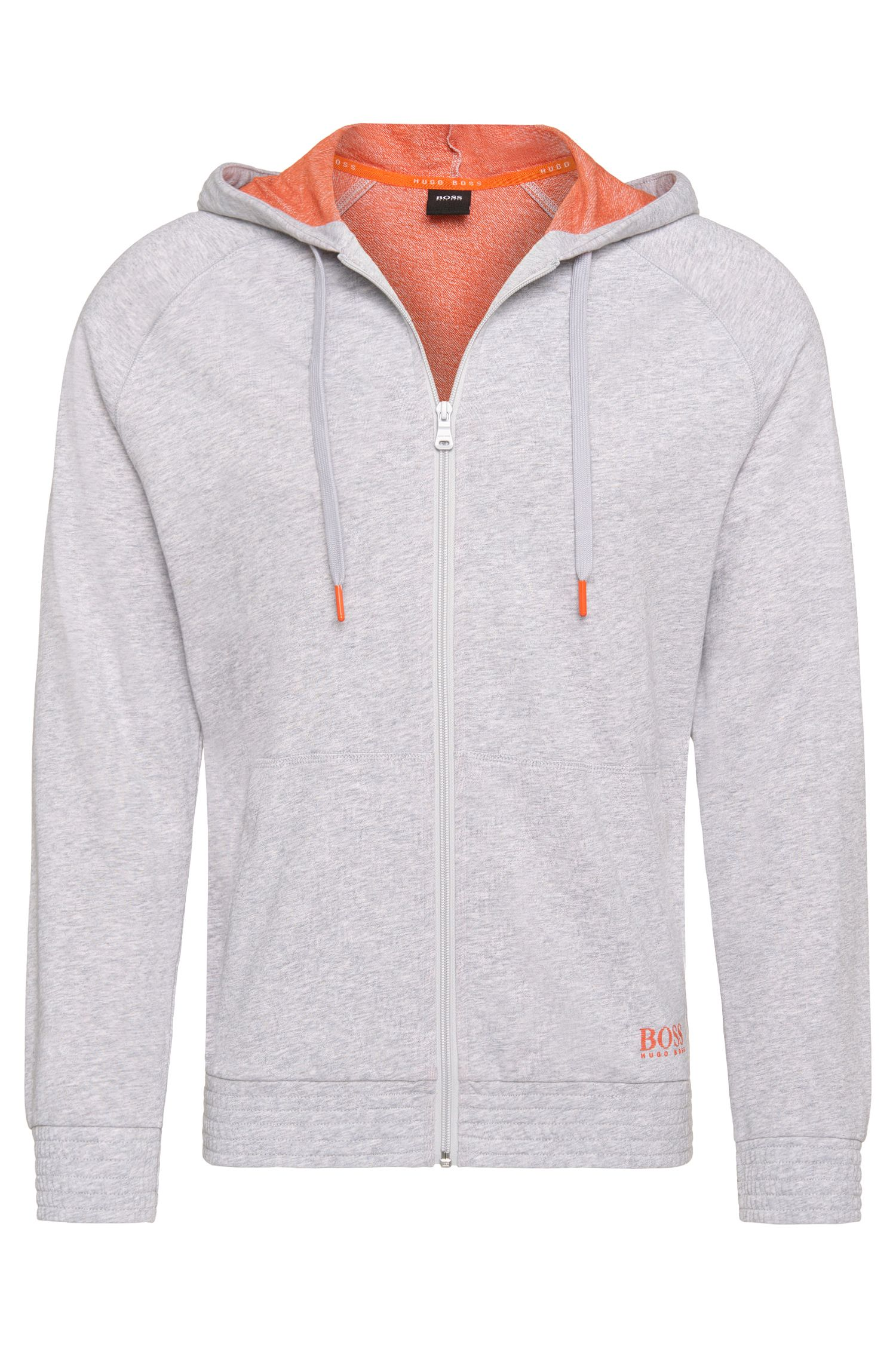 'Jacket Hooded' | Cotton Hooded Sweatshirt