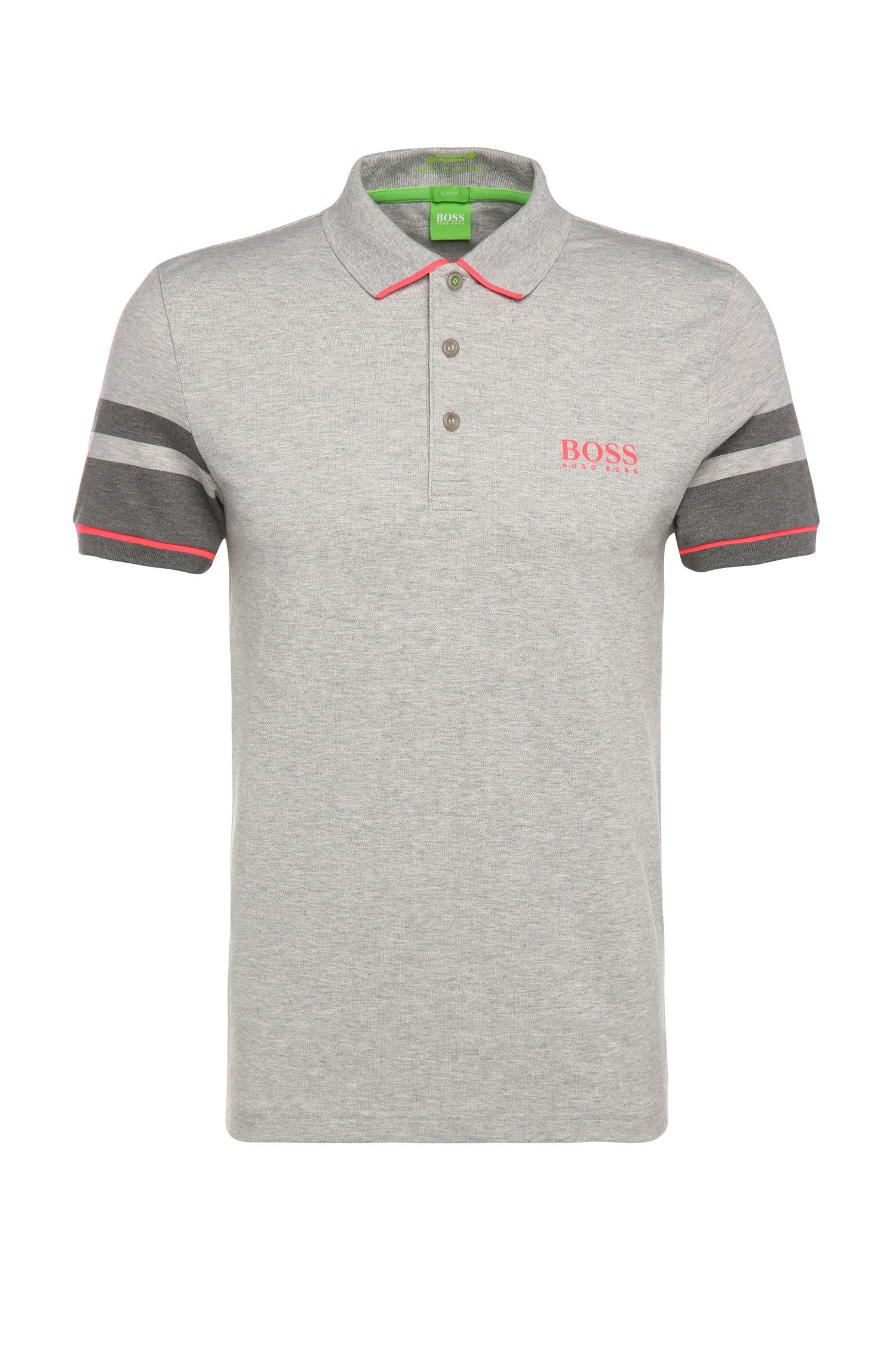 'Paule Pro' | Slim Fit, Moisture Manager Cotton Polo Shirt
