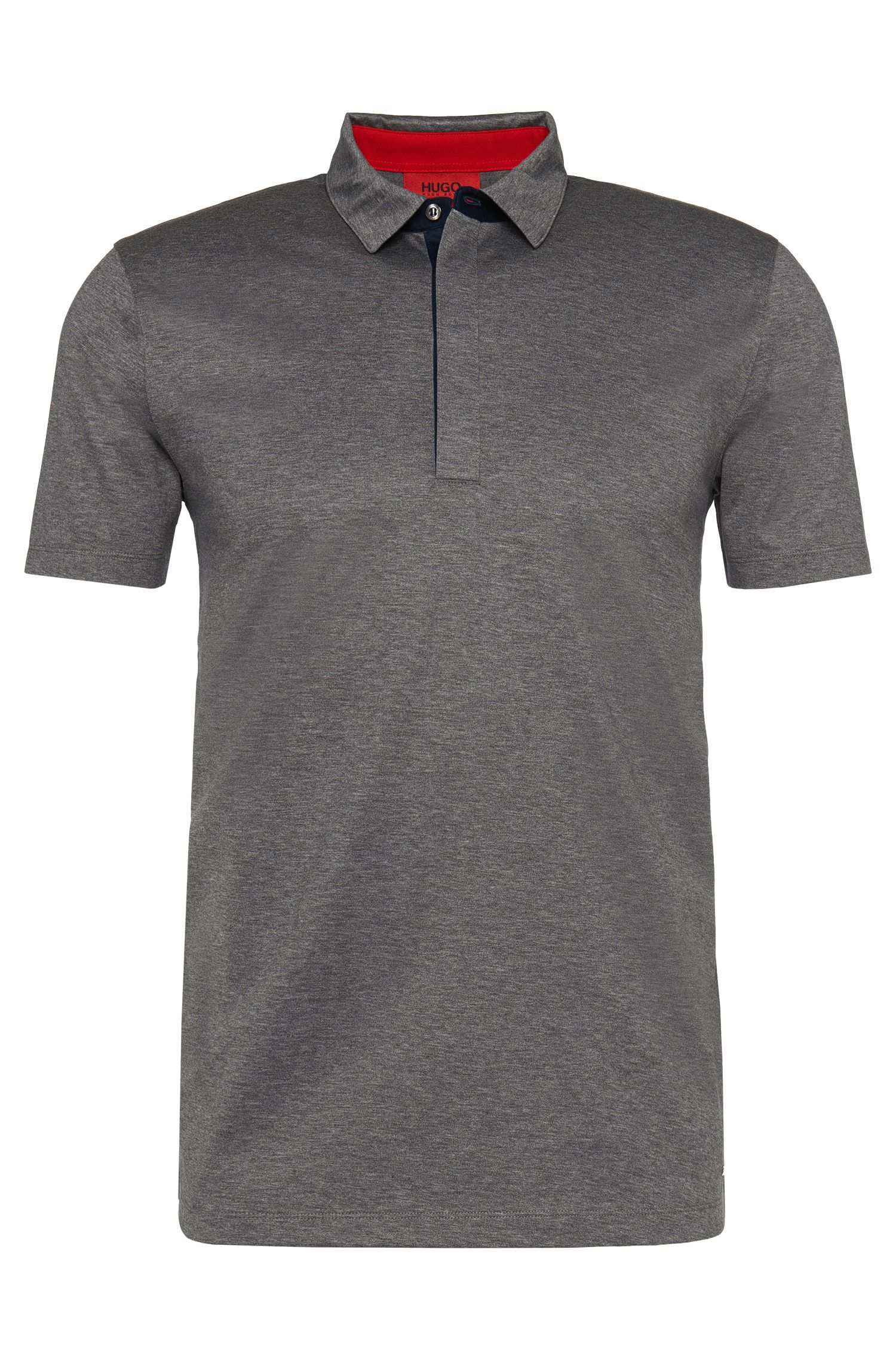 'Dellos' | Slim Fit, Mercerized Cotton Polo