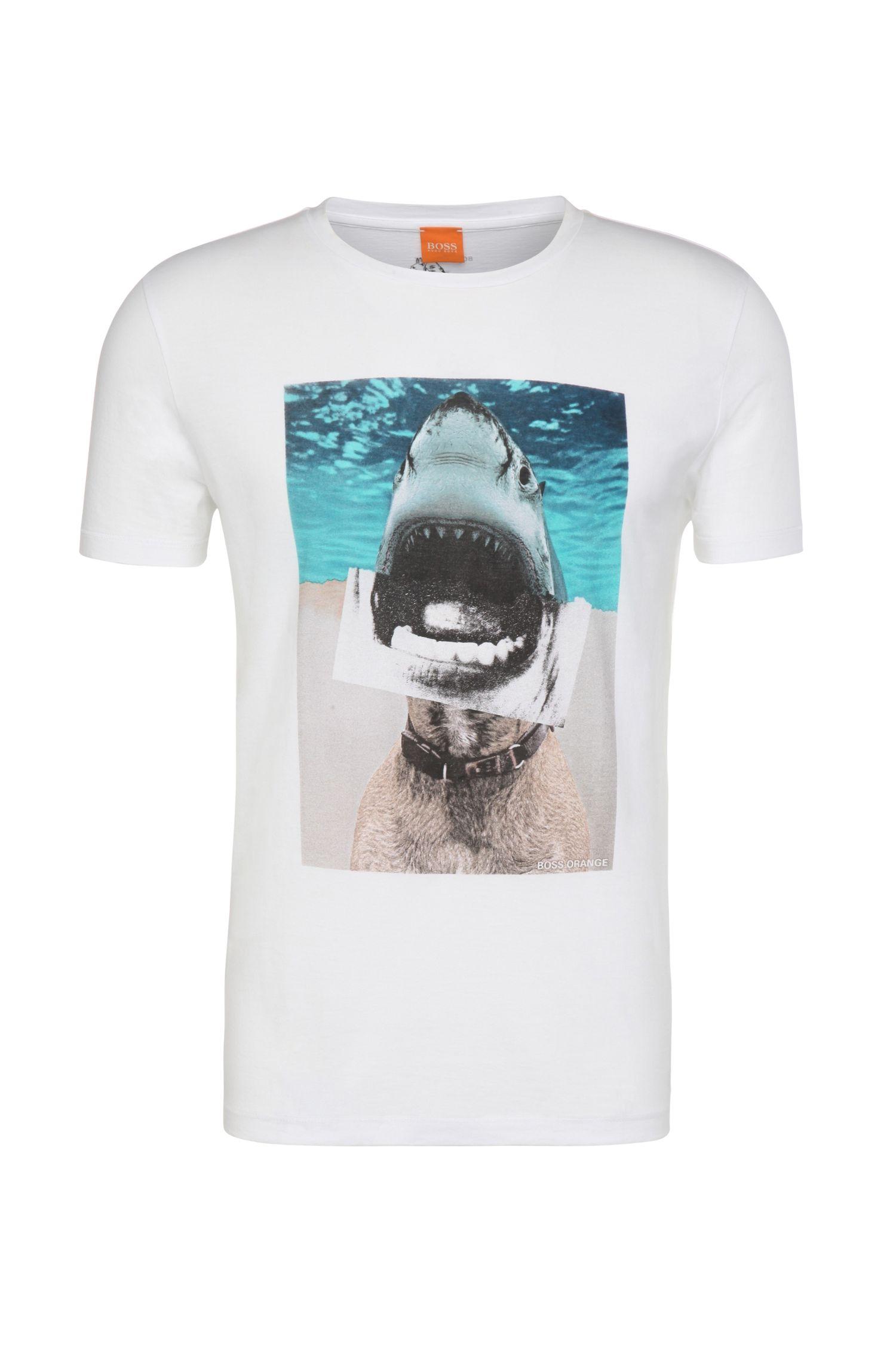 'Treyno' | Cotton Printed T-Shirt