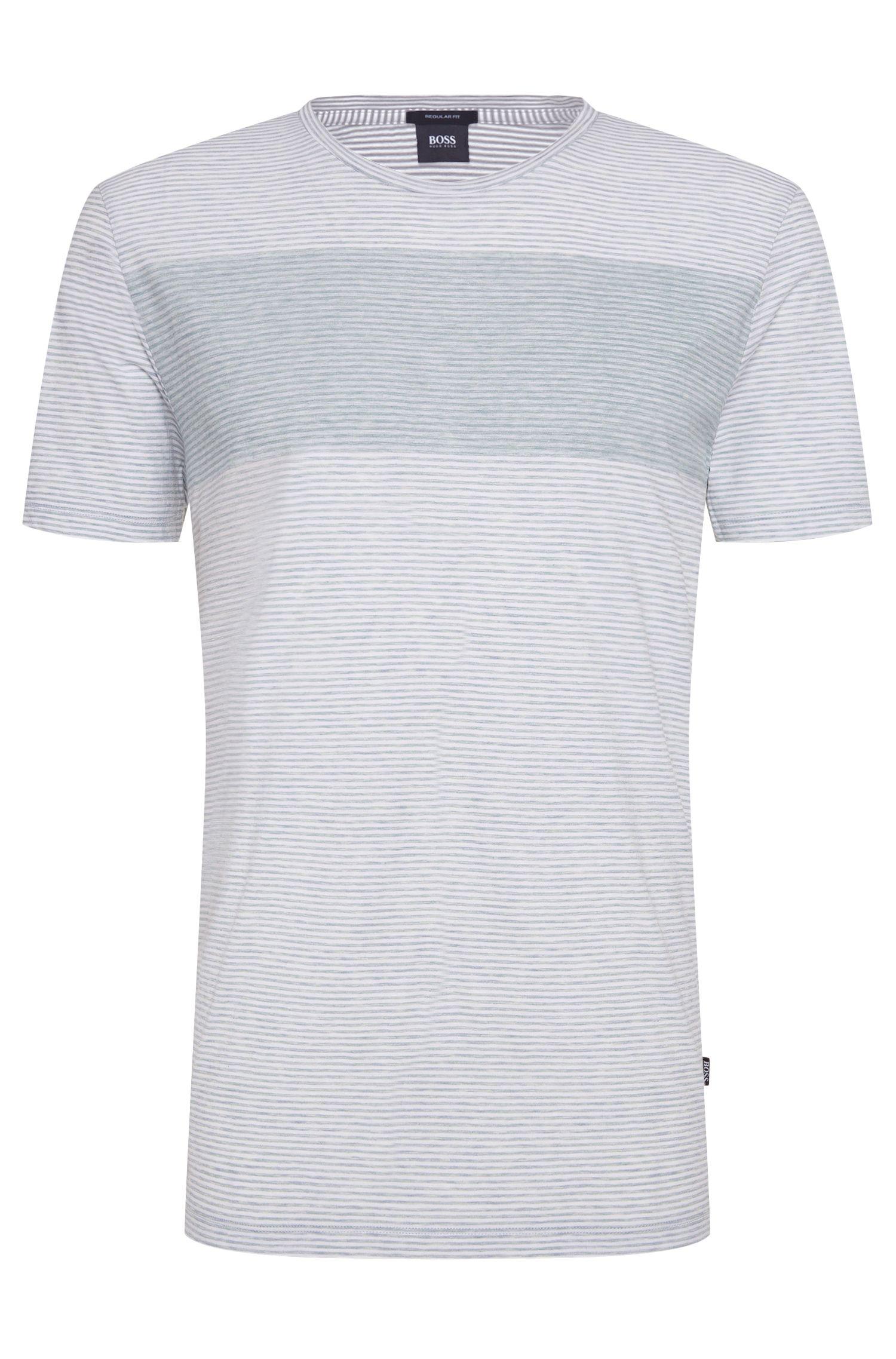 'Tiburt' | Cotton Striped T-Shirt