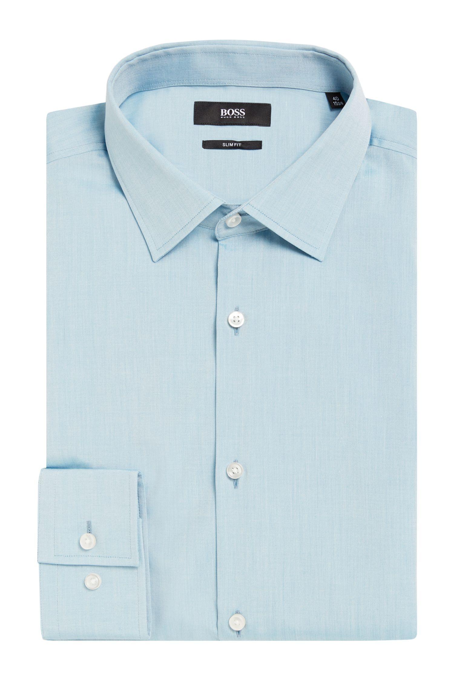 'Jenno' | Slim Fit, Italian Cotton Dress Shirt