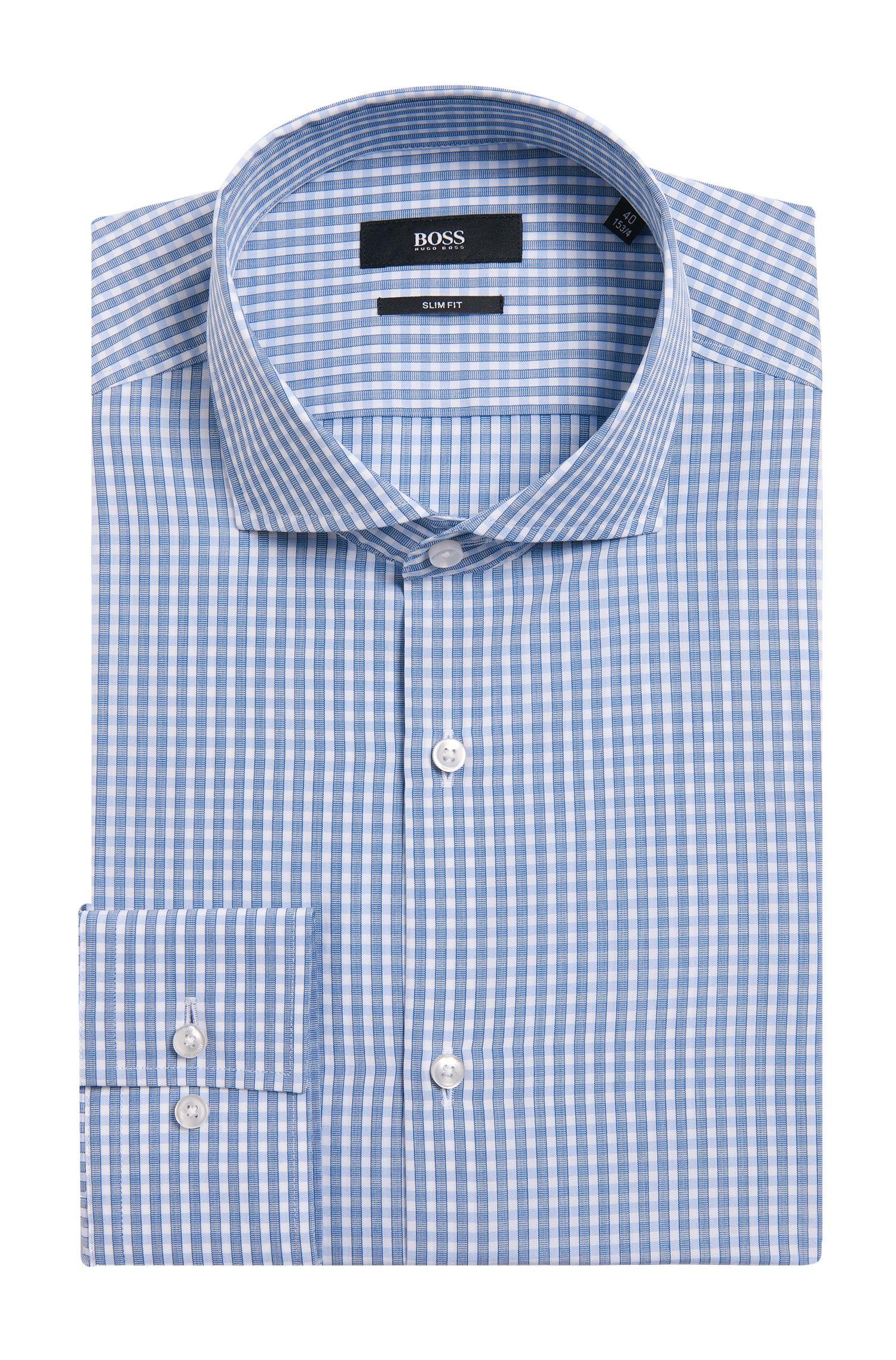 'Jason' | Slim Fit, Cotton Dress Shirt