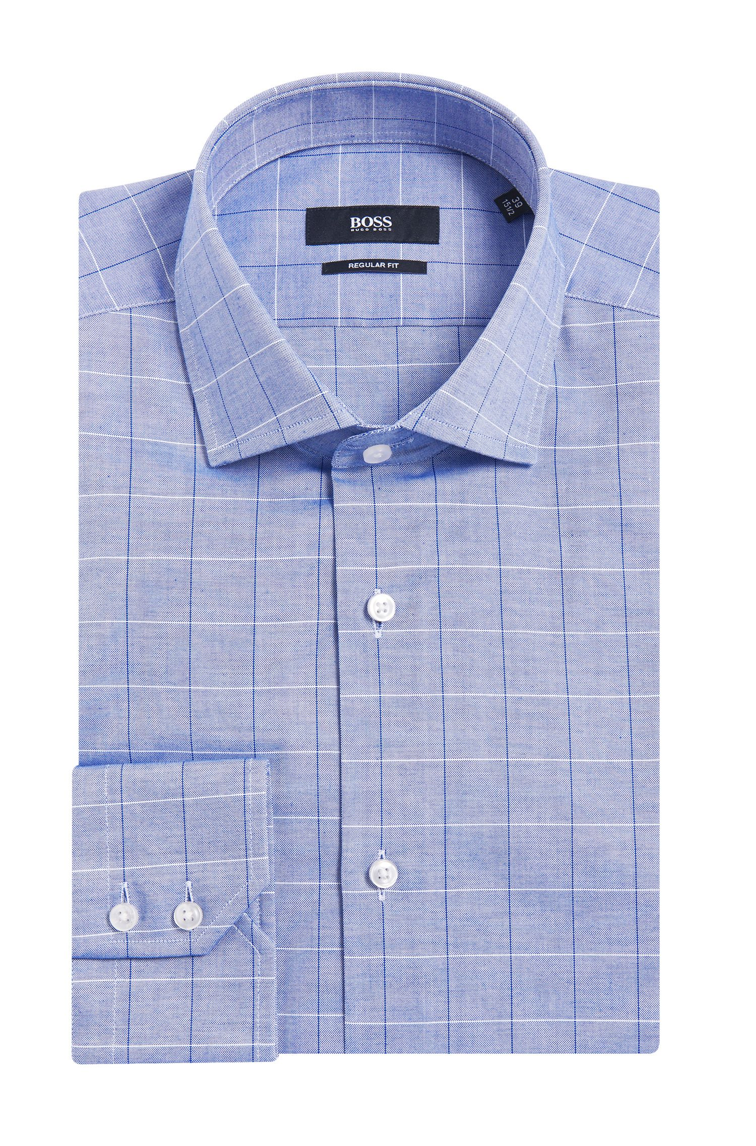 'Gordon' | Regular Fit, Italian Cotton Dress Shirt