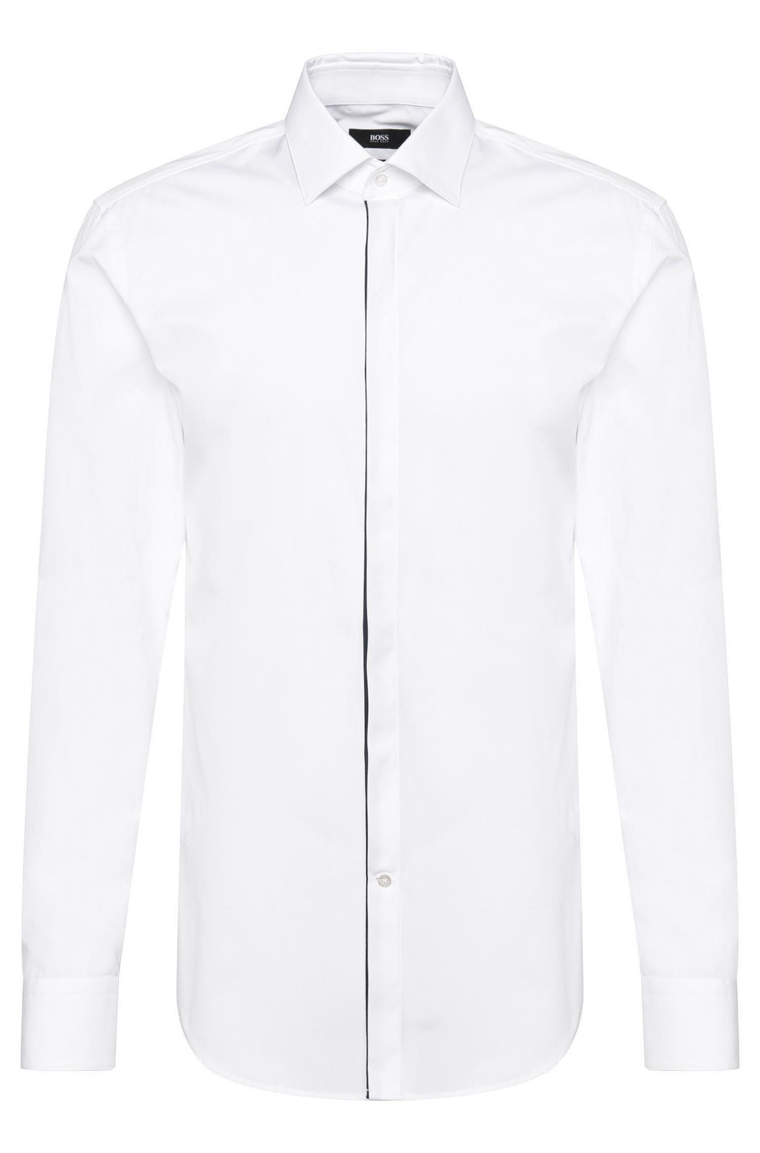 'Jamis' | Slim Fit, 2-Ply Italian Cotton Dress Shirt