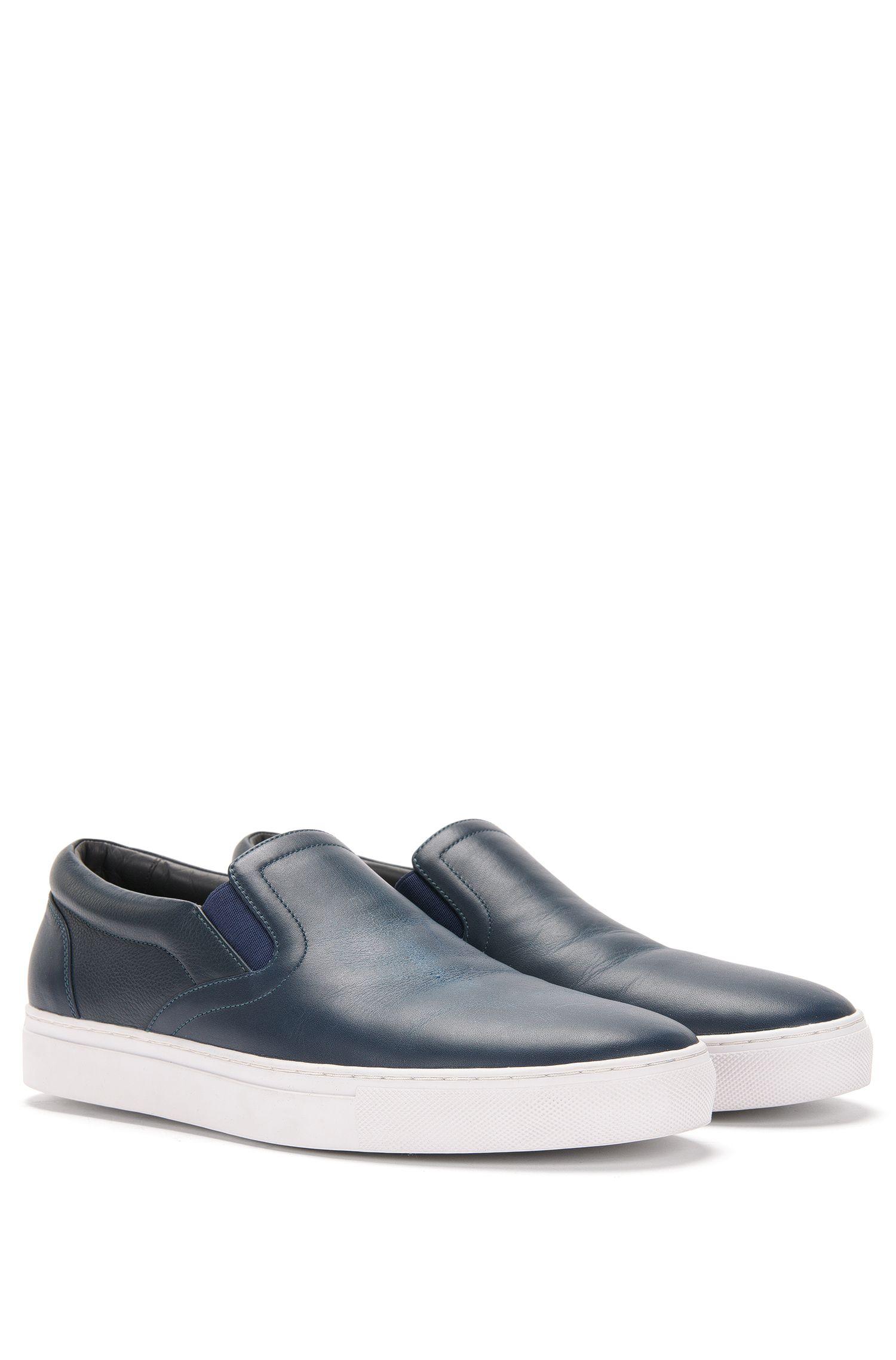 'Timeless Slon Mx' | Calfskin Slip-On Sneakers