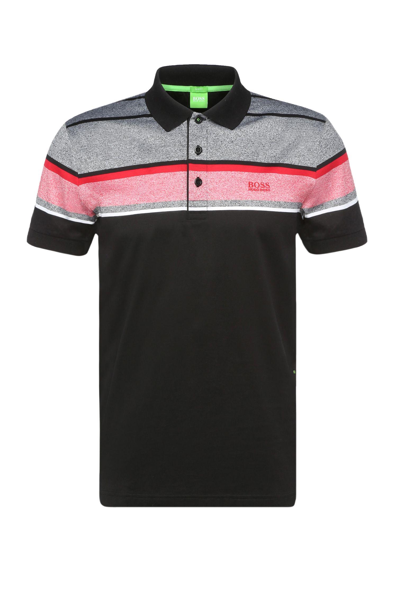 'Paule' | Slim Fit, Mercerized Cotton Polo Shirt