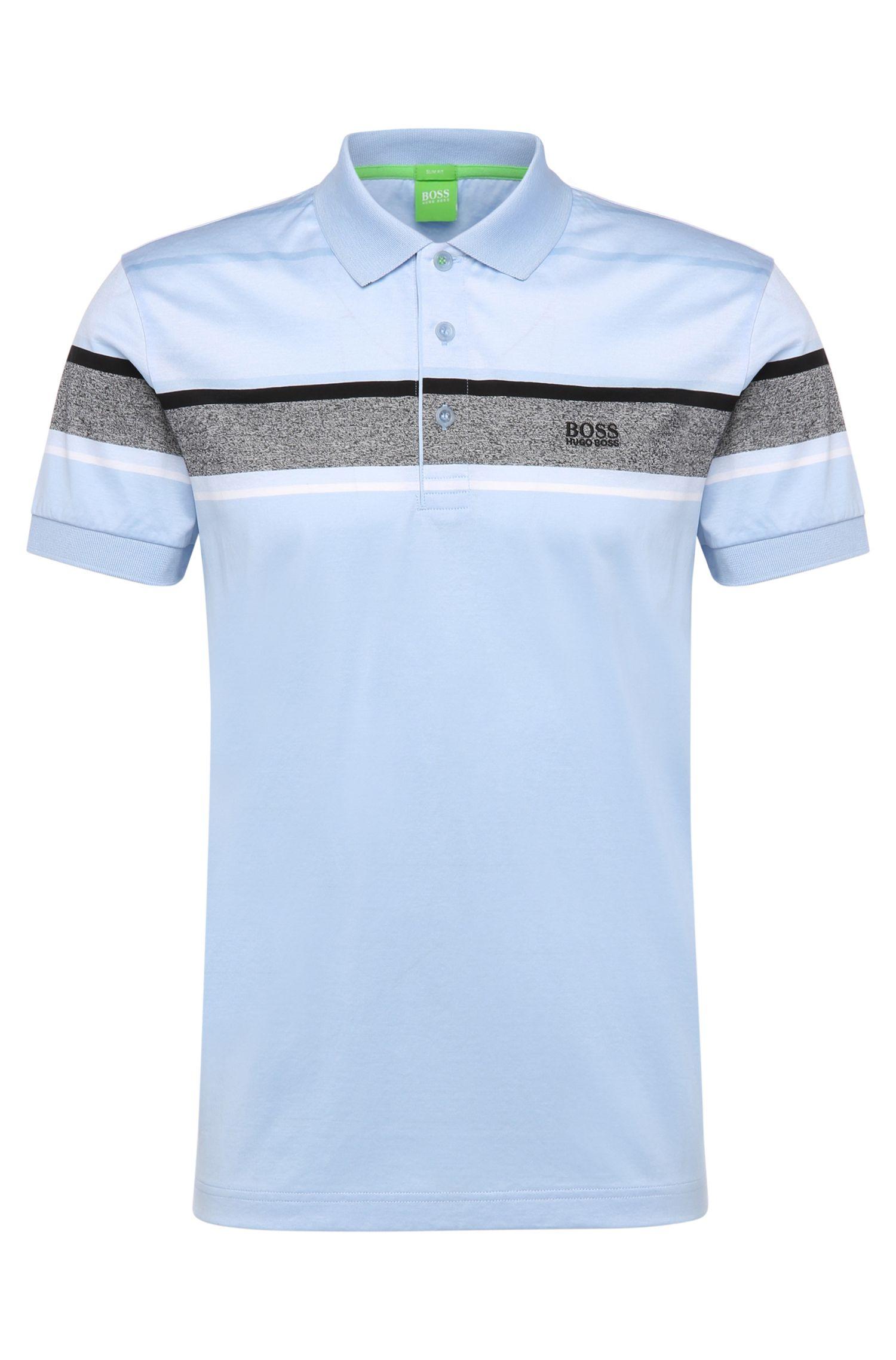 'Paule'   Slim Fit, Mercerized Cotton Polo Shirt