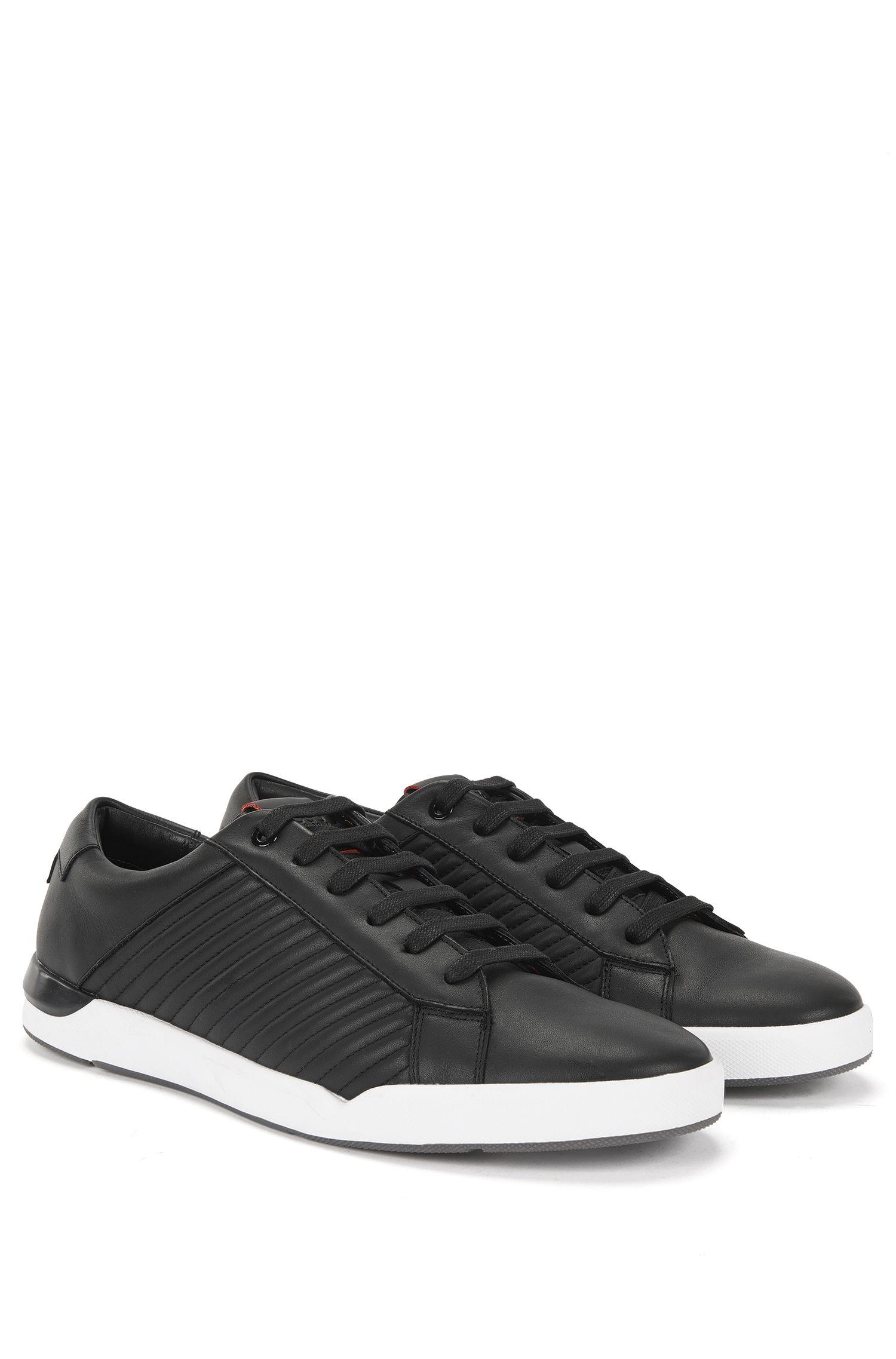 'Fusion Tenn ltma' | Calfskin Metelasse Sneakers