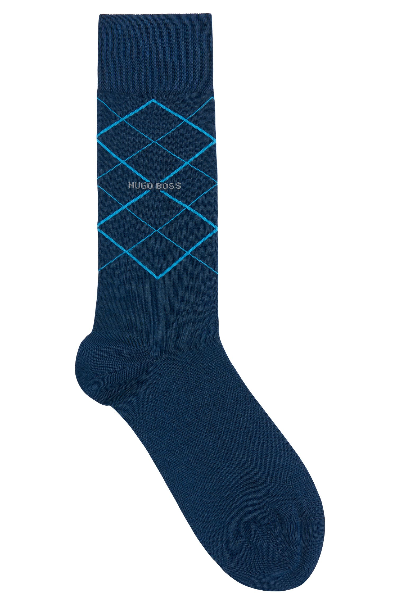 'RS Design US' | Stretch Mercerized Cotton Blend Socks