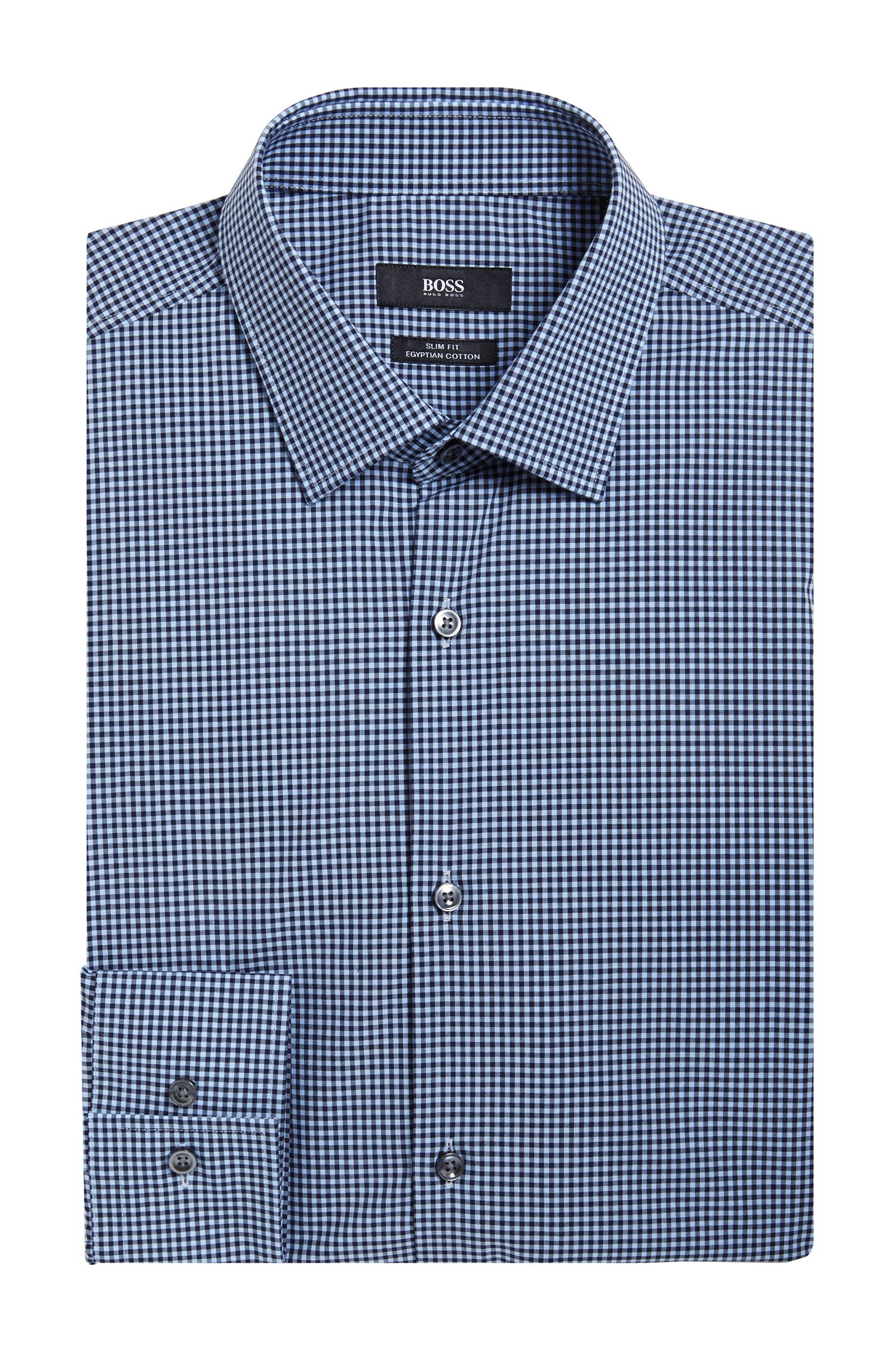 'Jenno' | Slim Fit, Egyptian Cotton Dress Shirt