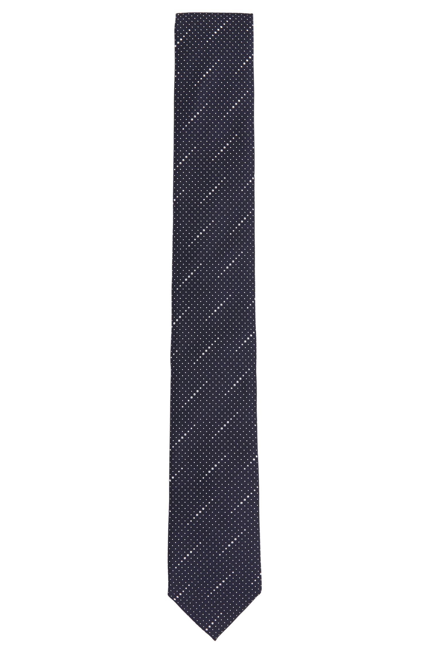 'Tie 6 cm' | Slim, Silk Dot Weave Tie