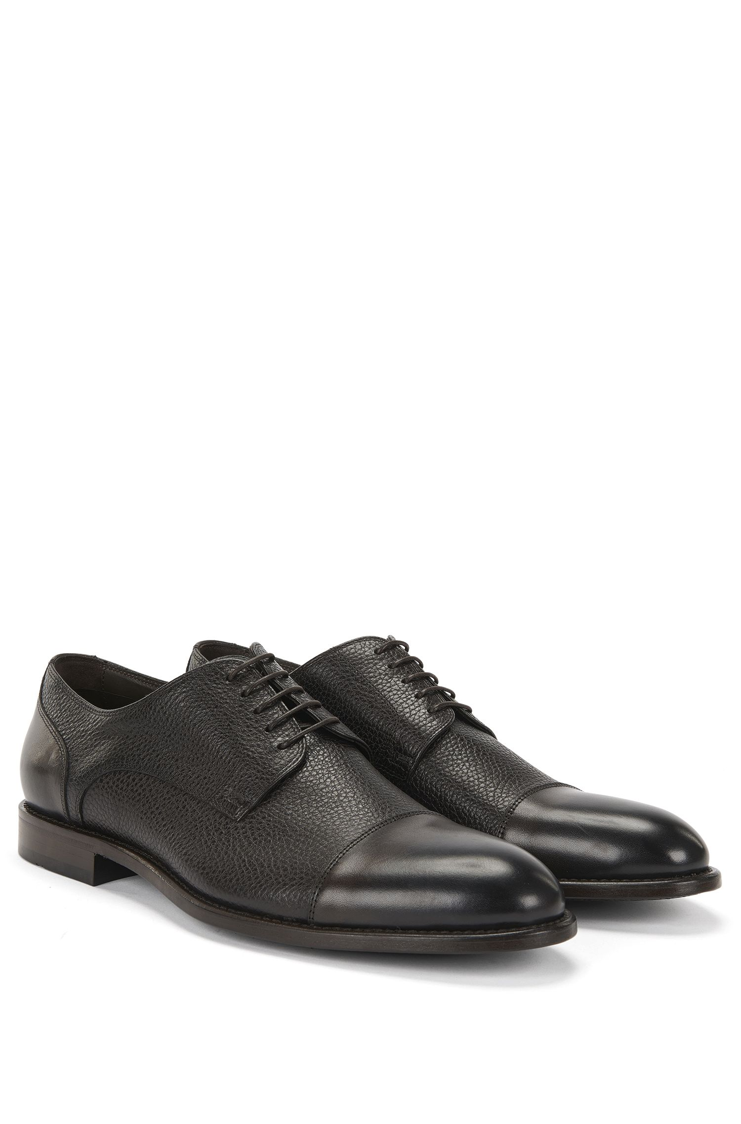 'Stockholm Derb Mxct' | Italian Calfskin Cap Toe Dress Shoes