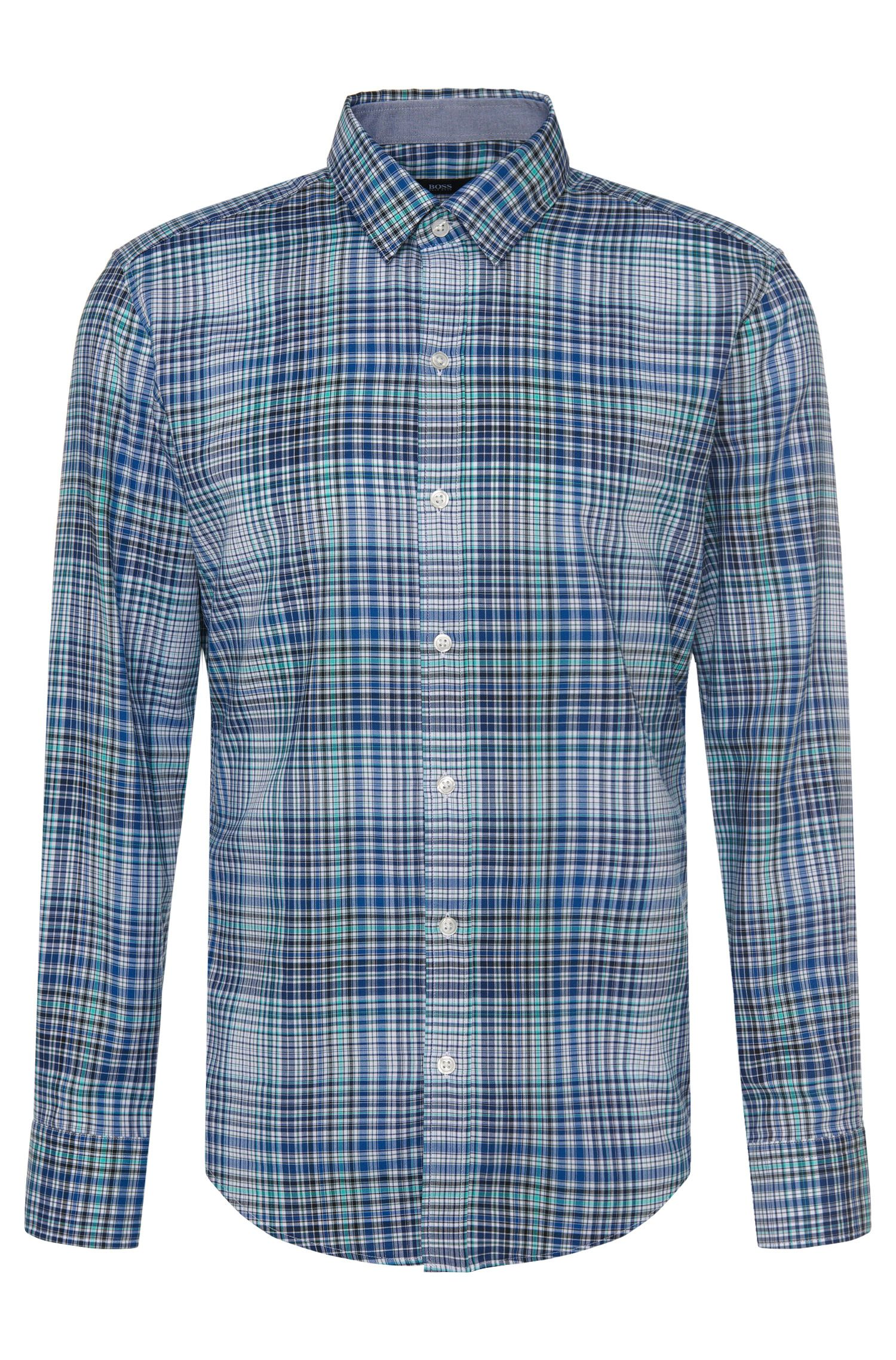'Robbie' | Slim Fit, Cotton Button Down Shirt