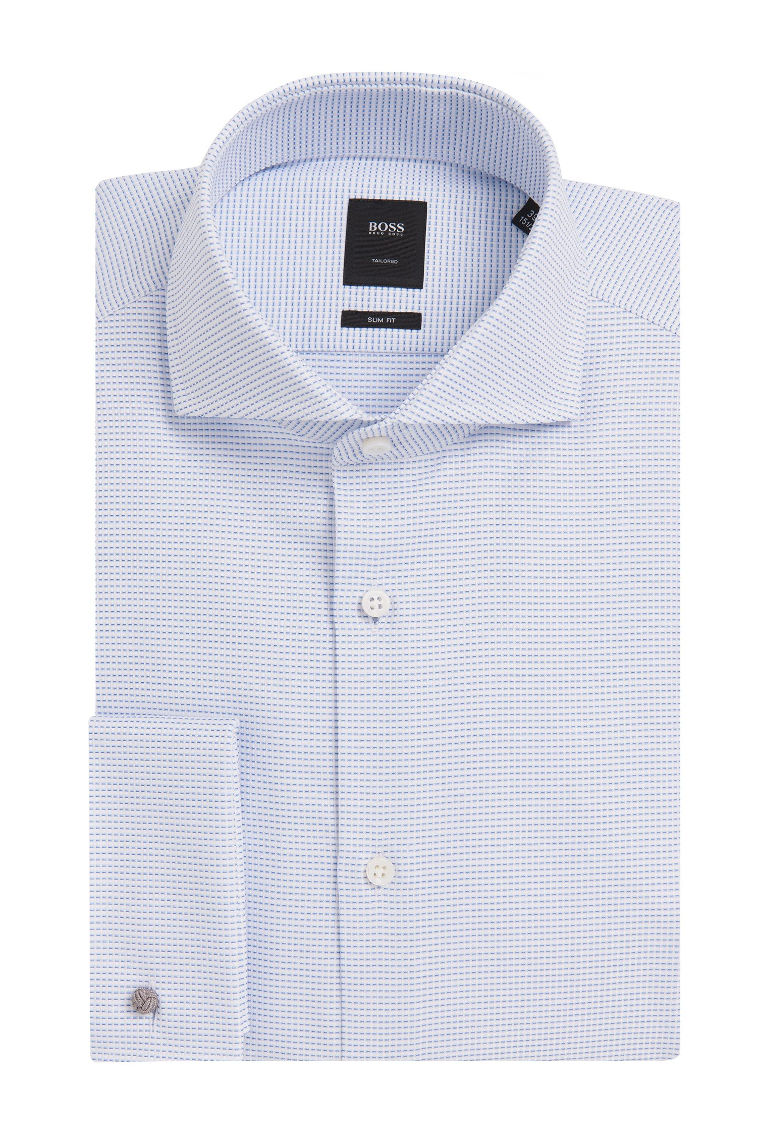 'T-Yacob' | Slim Fit, Italian Cotton French Cuff Dress Shirt