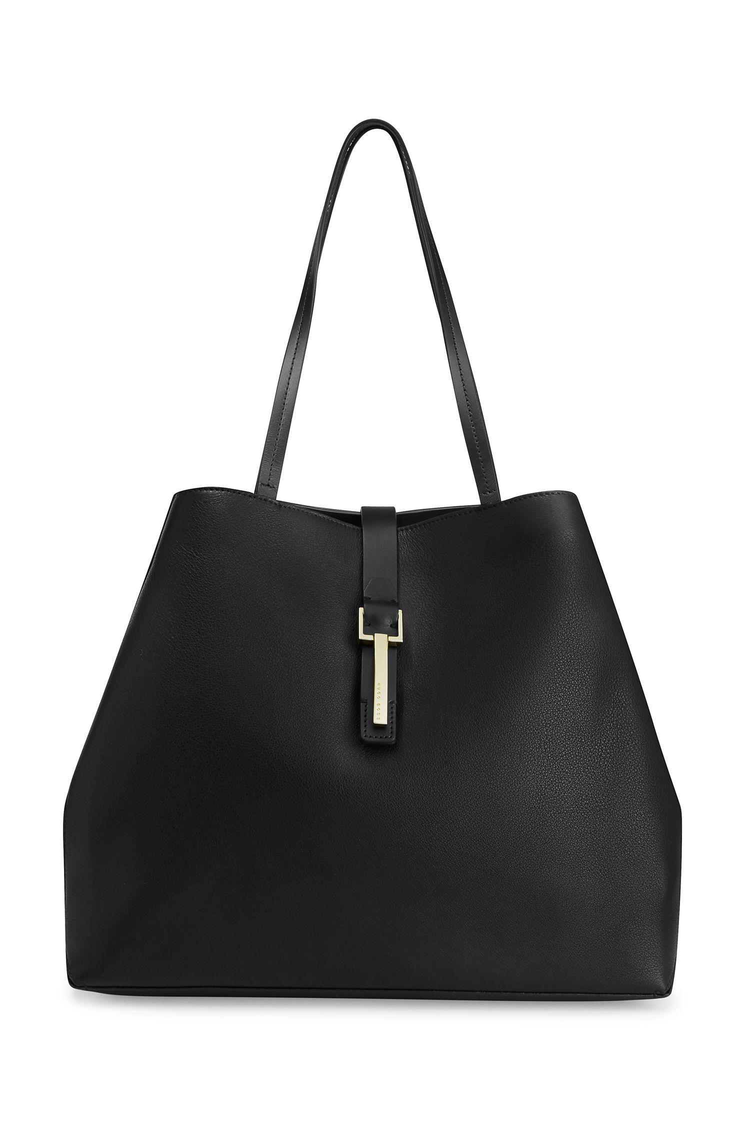 'Paris Tote-D' | Calfskin Tote Hand Bag