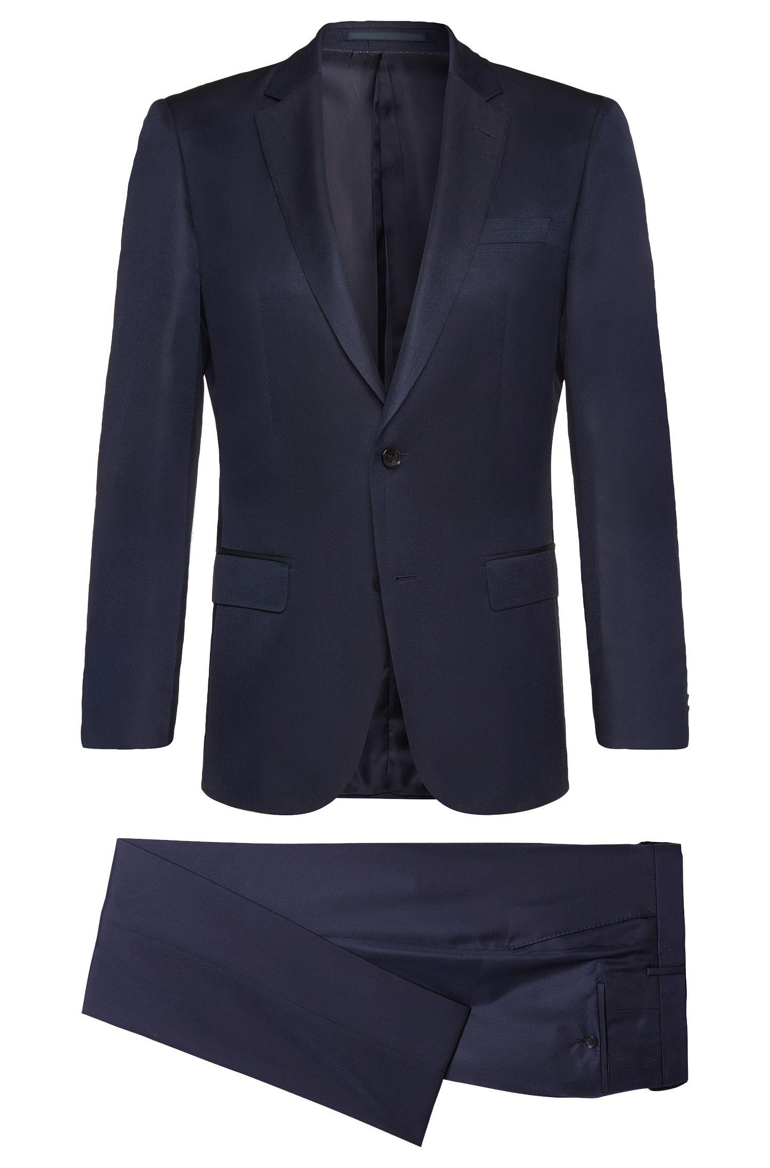 'T-Harvers/Glover' | Slim Fit, Italian Silk Suit