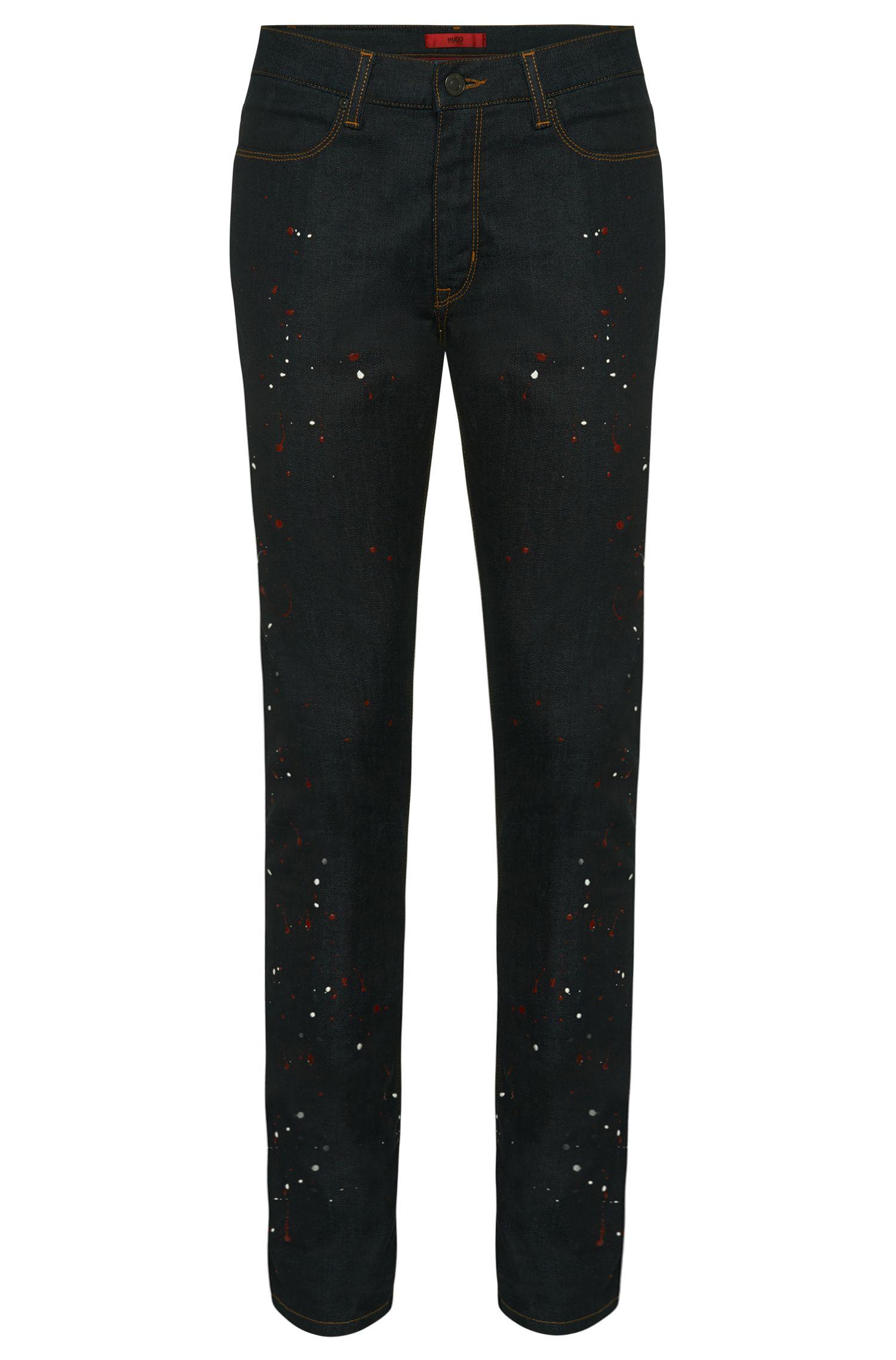 'HUGO 734' | Slim Fit, 10.5 oz Stretch Cotton Jeans