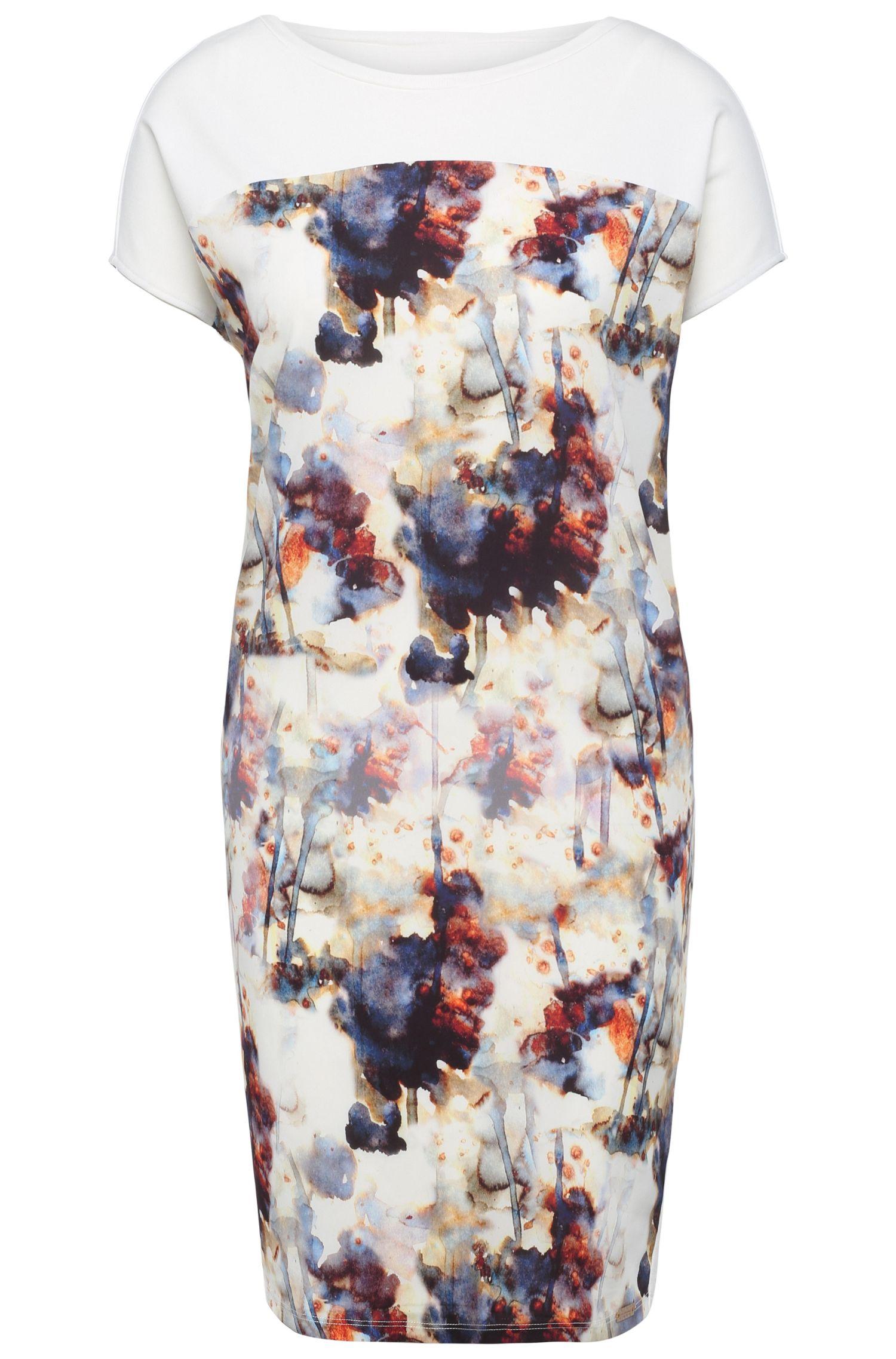 'Dimarion' | Stretch Viscose Jersey T-Shirt Dress