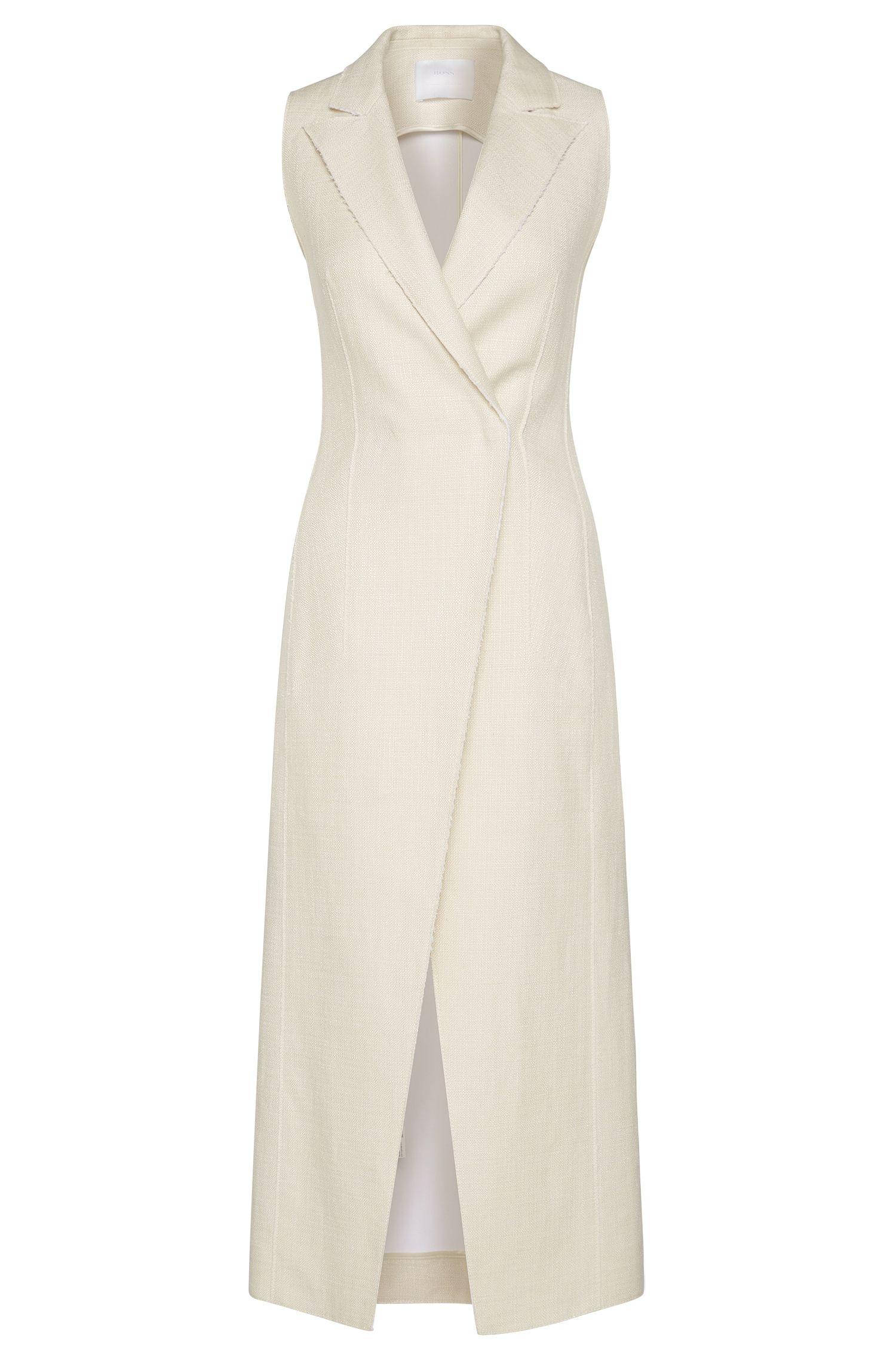 'FS_Dilinnen' | Linen Blend Vest