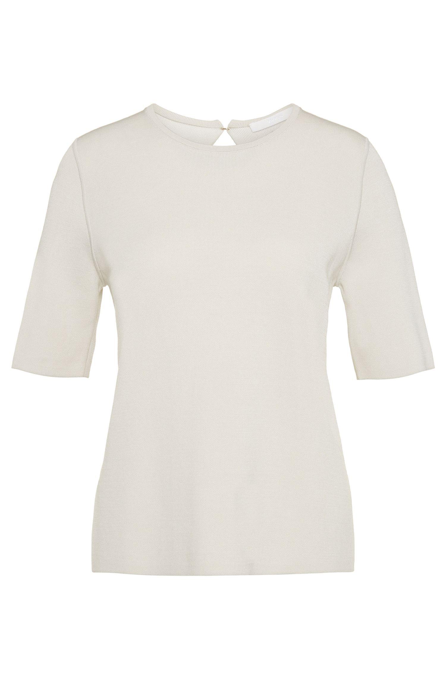 'Filzali' | Cotton Blend Shell Sweater