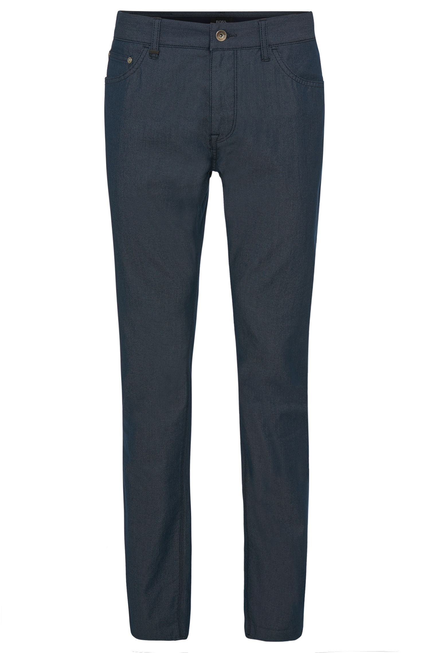 'Maine' | Regular Fit, 9.5 oz Stretch Cotton Blend Trousers