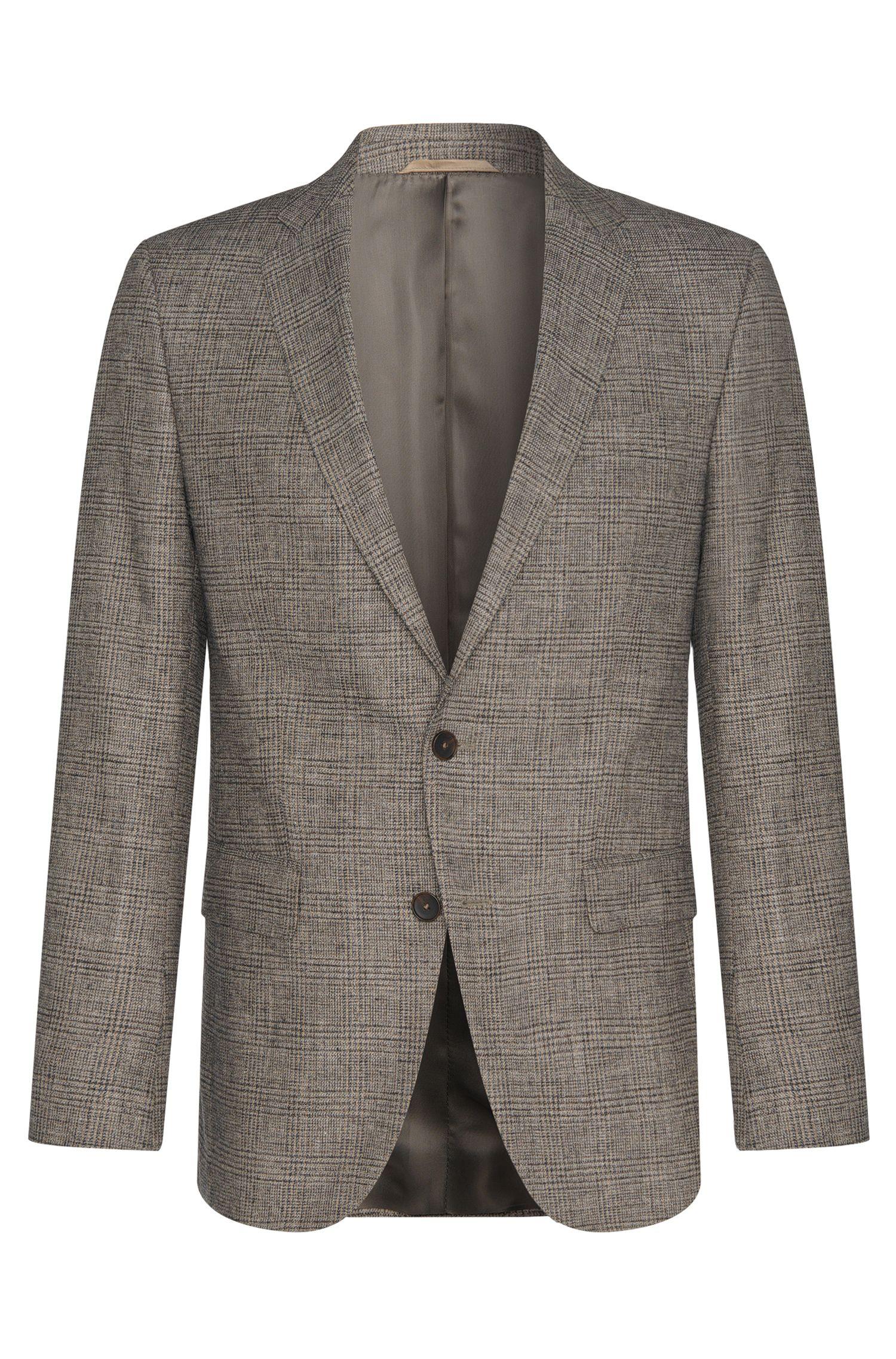 'Nasley' | Slim Fit, Virgin Wool Cotton Blend Sport Coat