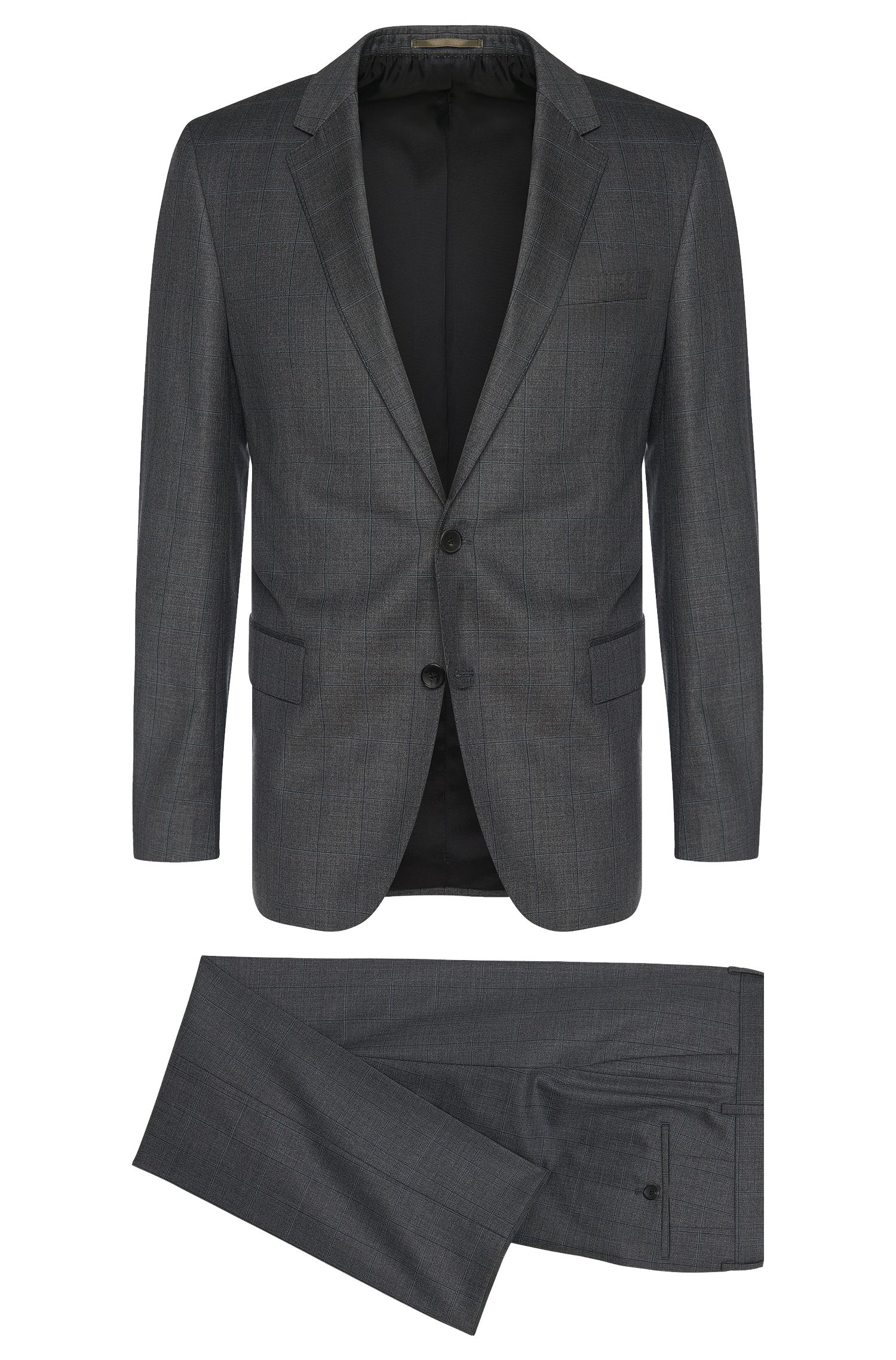 'Huge/Genius'   Slim Fit, Super 110 Italian Virgin Wool Suit