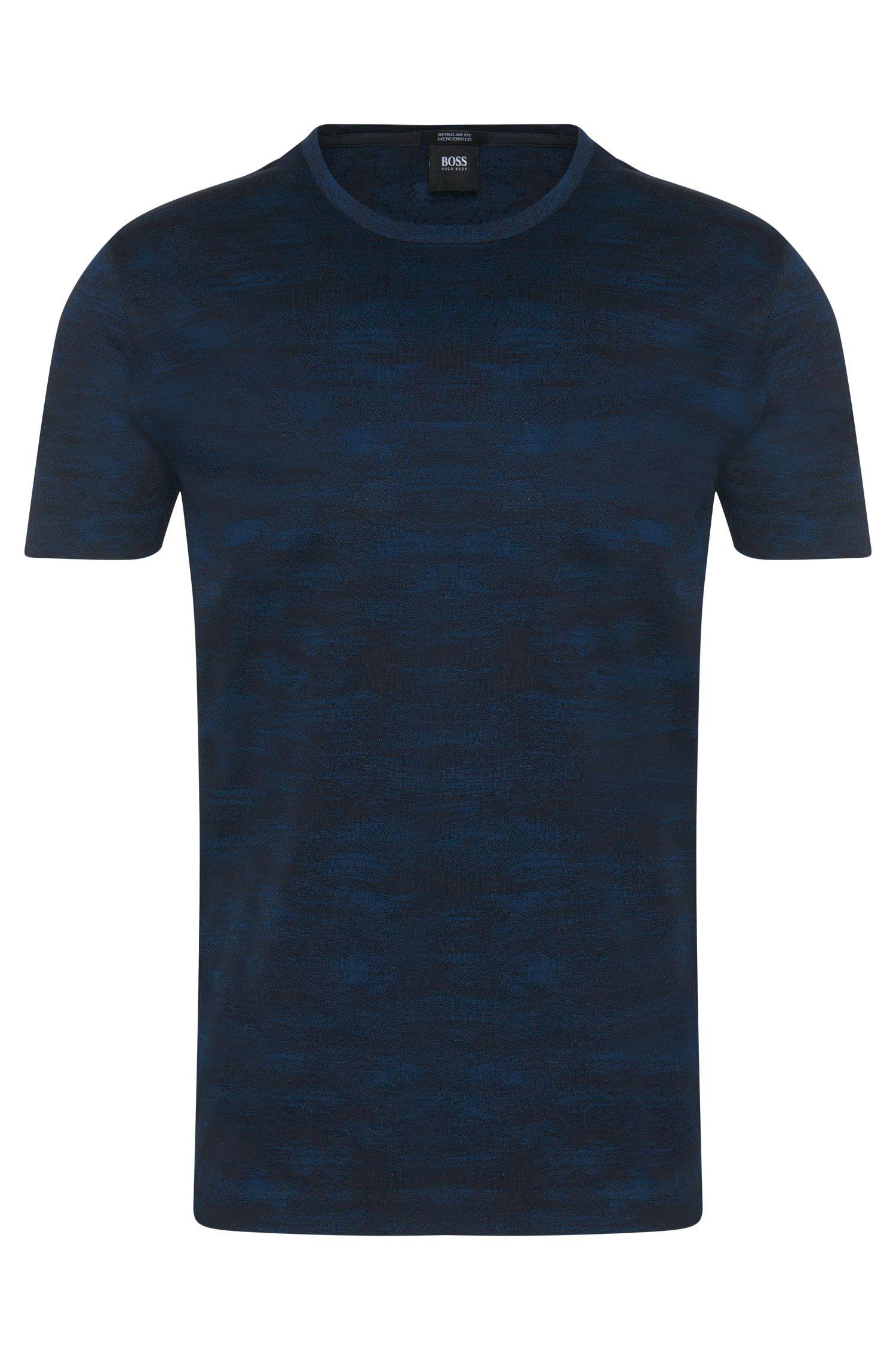 'Tiburt' | Mercerized Cotton Patterned T-Shirt