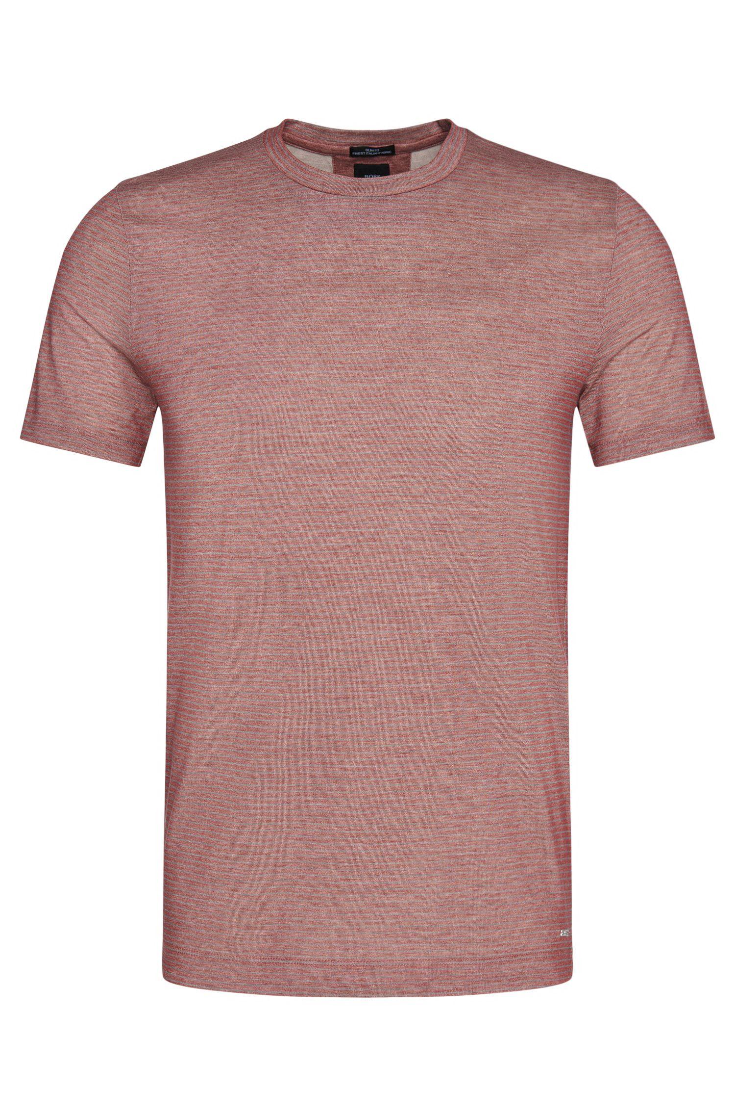 'T-Tribel' | Italian Cotton Striped T-Shirt