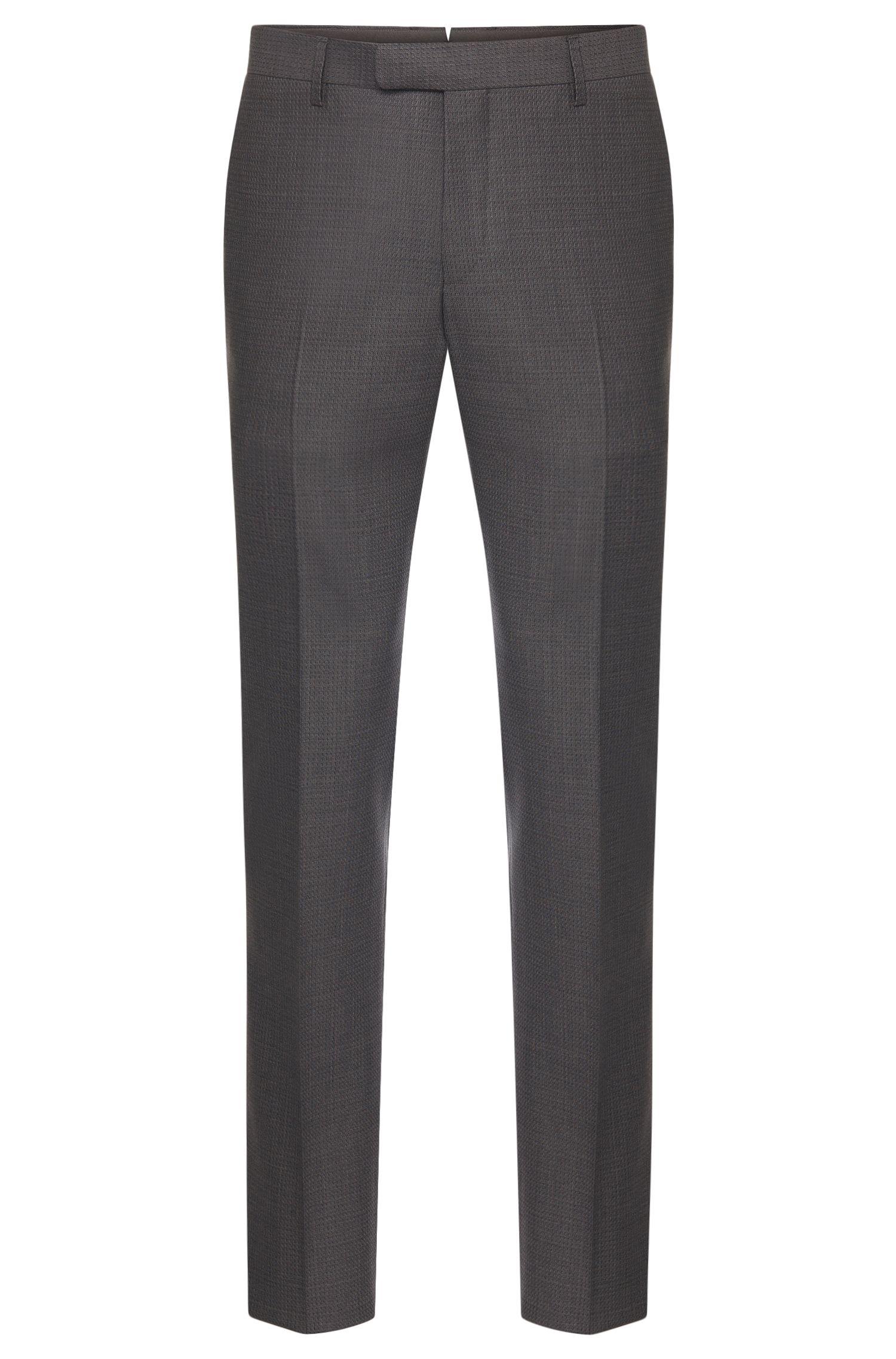'T-Gilmond' | Slim Fit, Italian Virgin Wool Jacquard Dress Pants