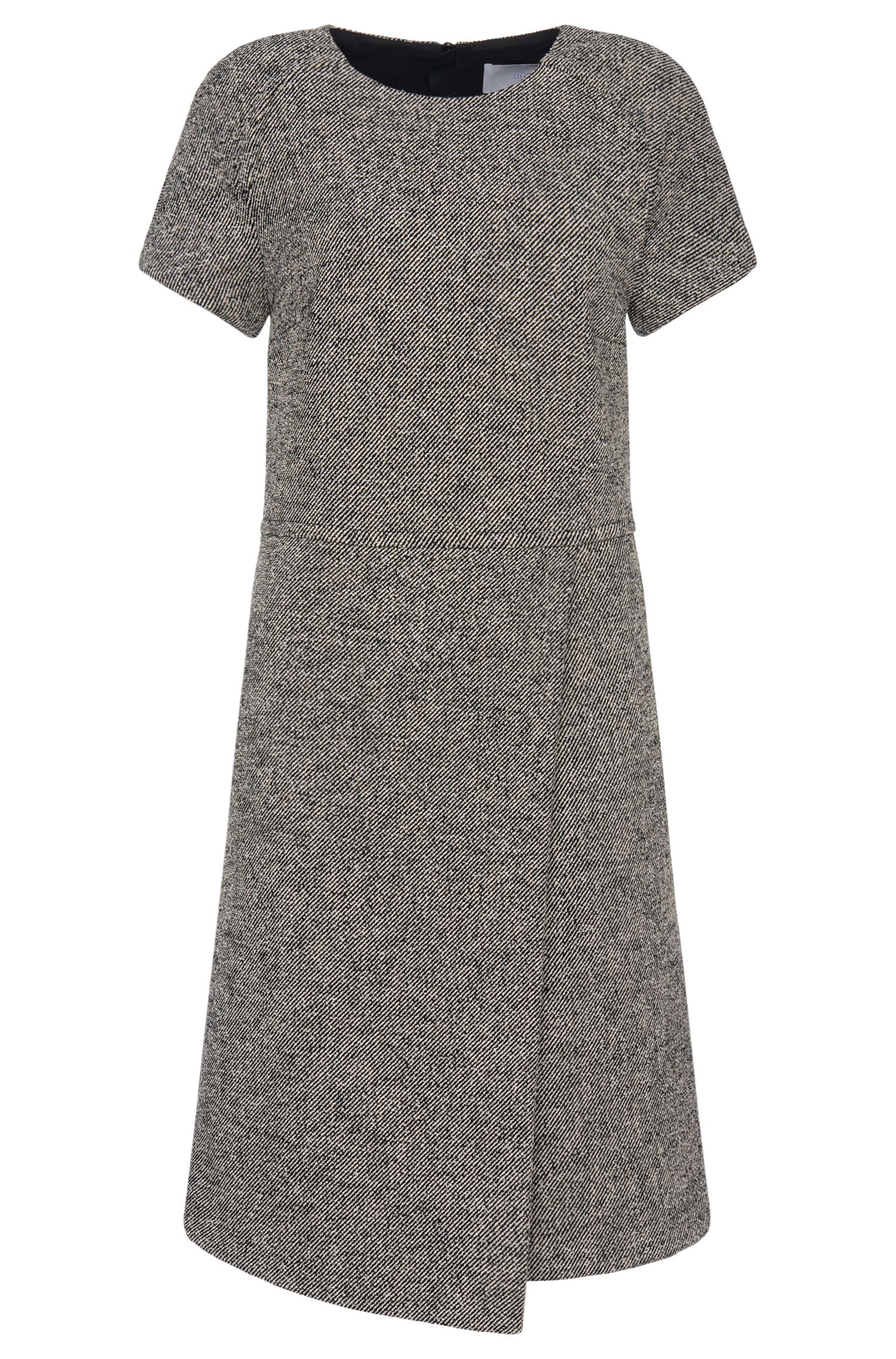 'Hikama' | Stretch Cotton Blend Shift Dress