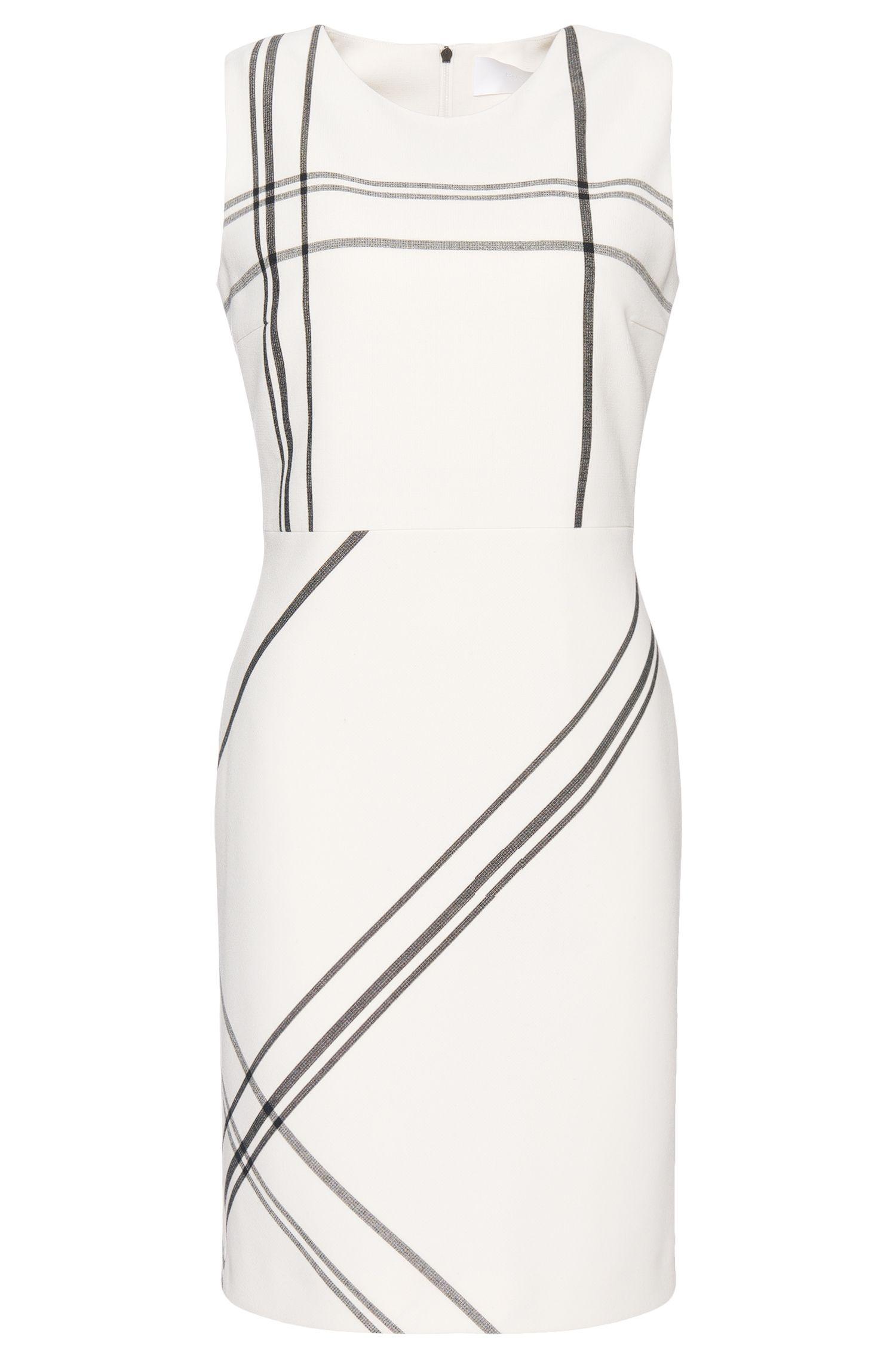 'Hiamma' | Stretch Tartan Shift Dress