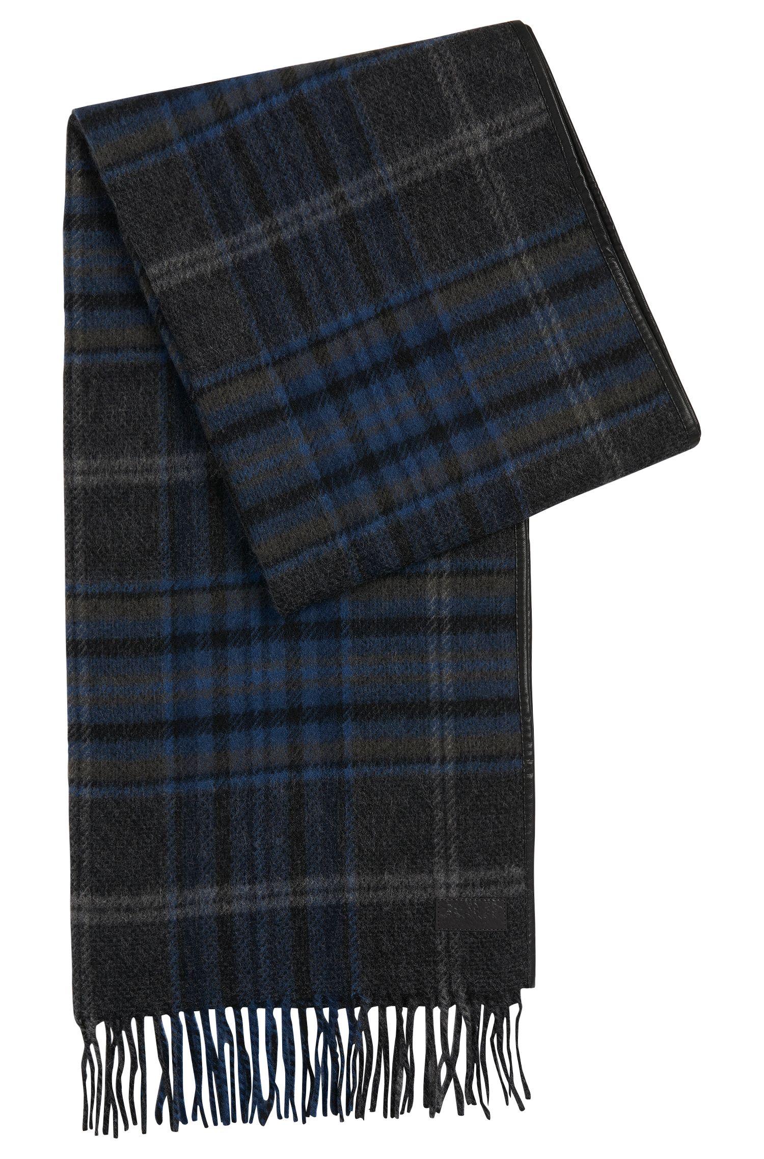 'Men Z' | Wool Plaid Scarf