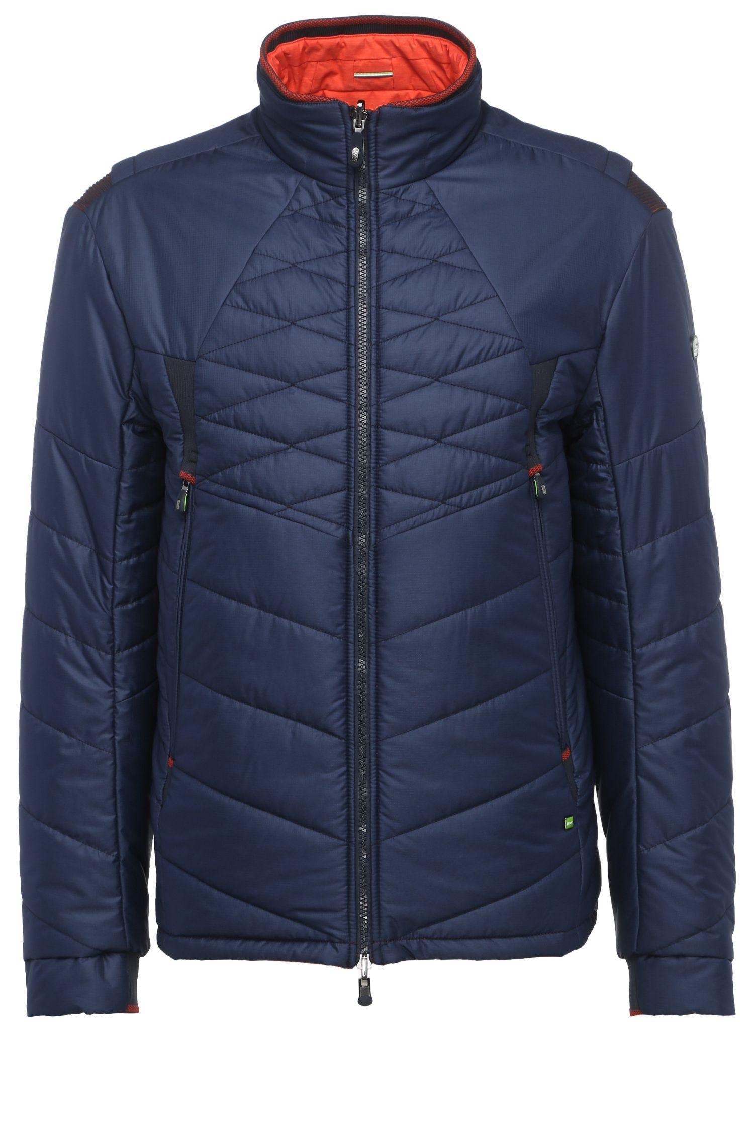 'Jakobo'   Nylon Blend Reversible Quilted Jacket